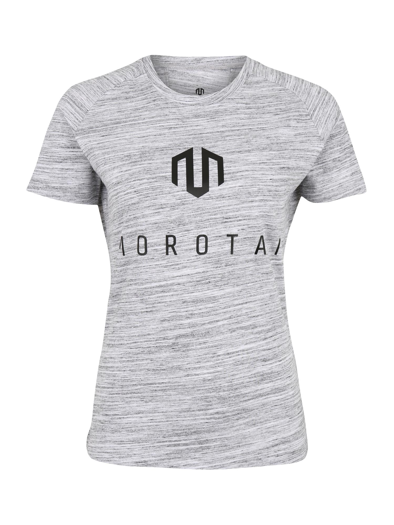 Funkční tričko NAKA Performance Basic Eye šedá černá MOROTAI