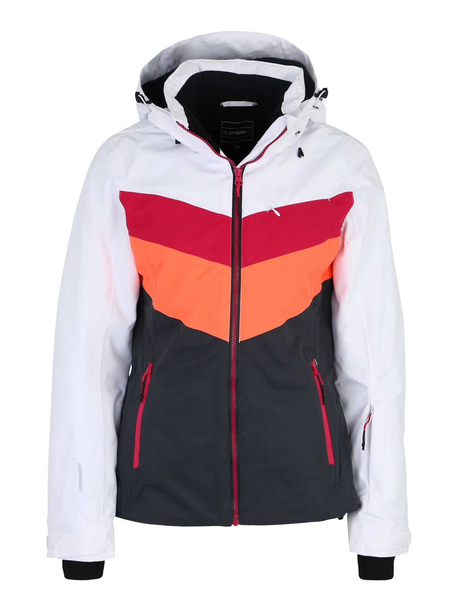 Outdoorová bunda Kate černá bílá ICEPEAK