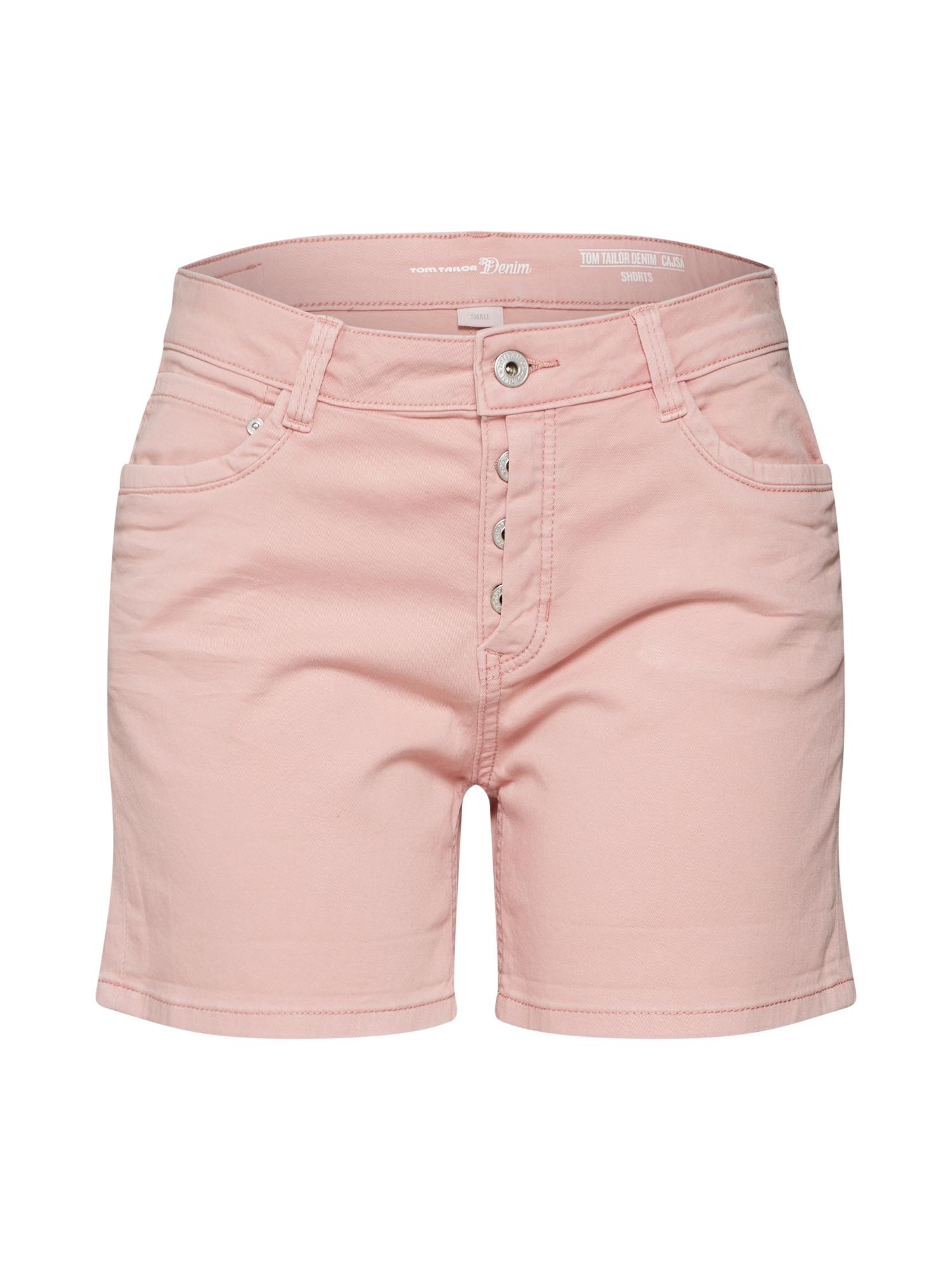 Džíny Cajsa pink světle růžová TOM TAILOR DENIM