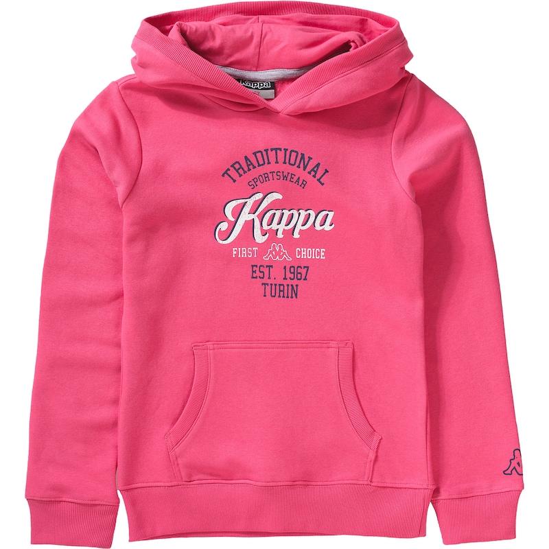 Kappa Sweatshirt AKANO mit Kapuze Gr. 176 Mädchen Kinder jetztbilligerkaufen