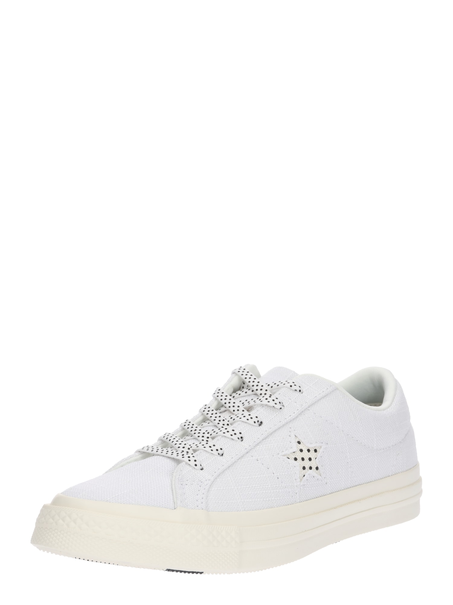 CONVERSE, Dames Sneakers laag 'ONE STAR OX', zwart / wit