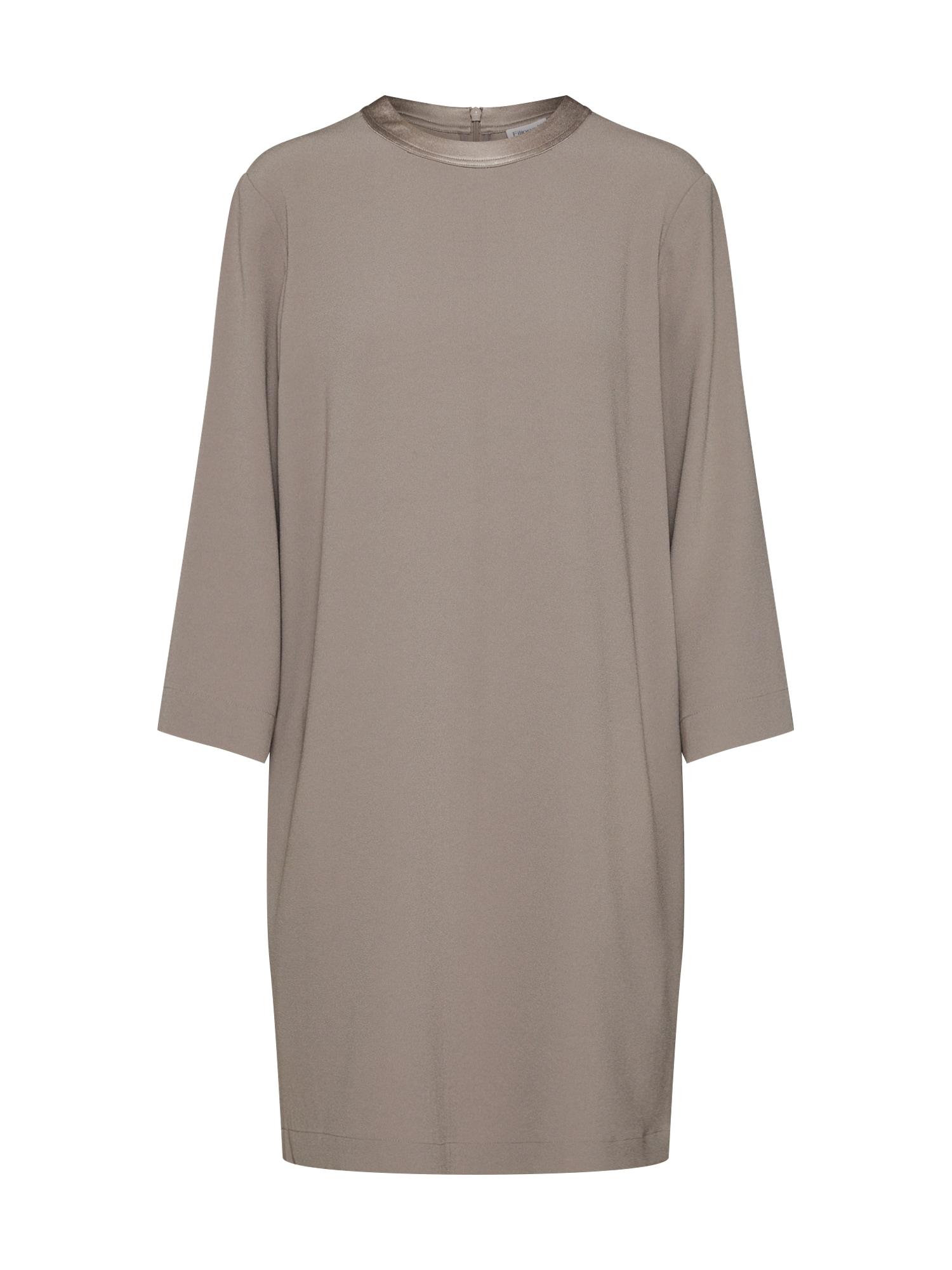Šaty Satin Crepe Dress tmavě béžová Filippa K