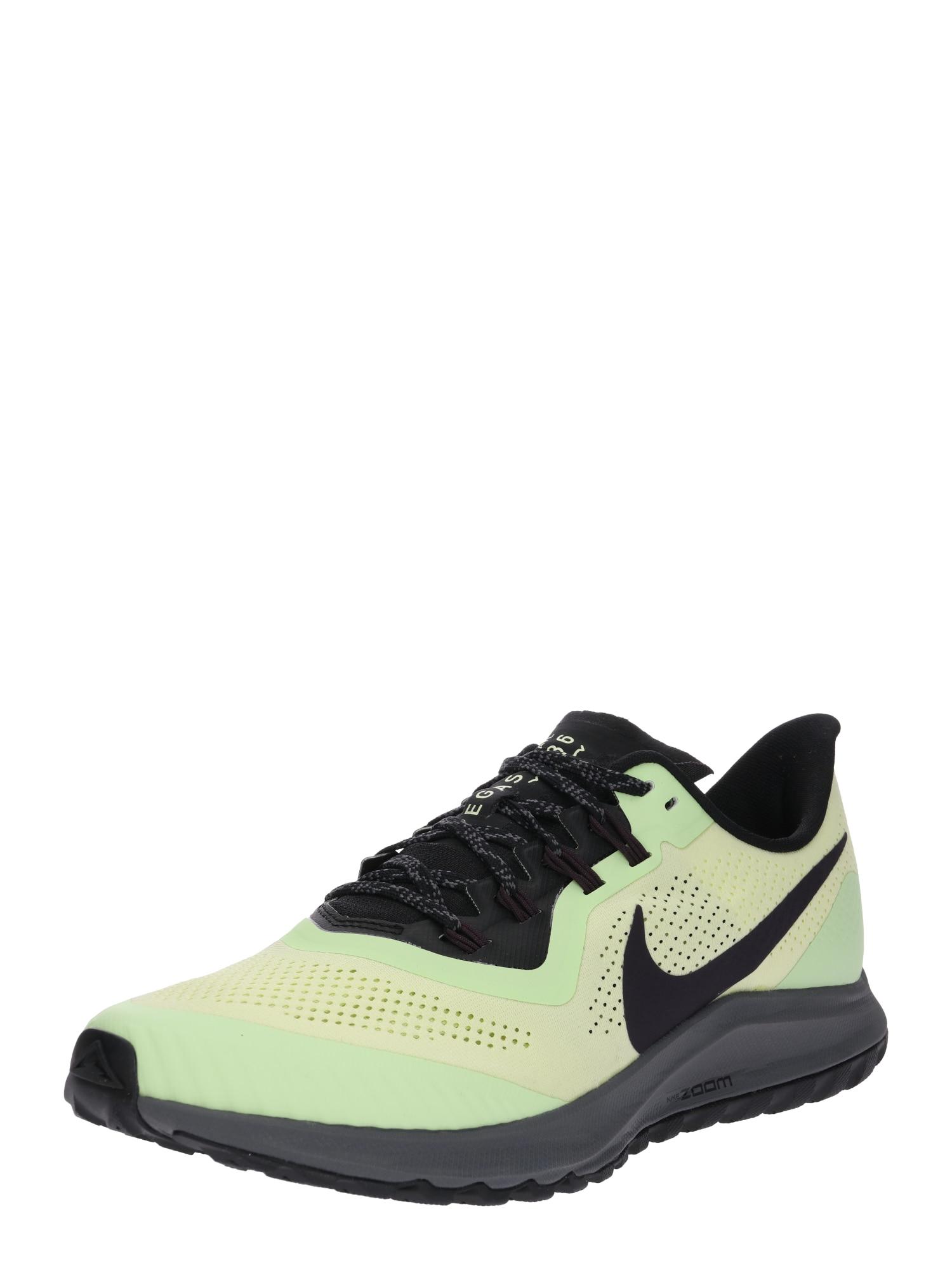 Běžecká obuv AIR ZOOM PEGASUS 36 TRAIL citronová černá NIKE