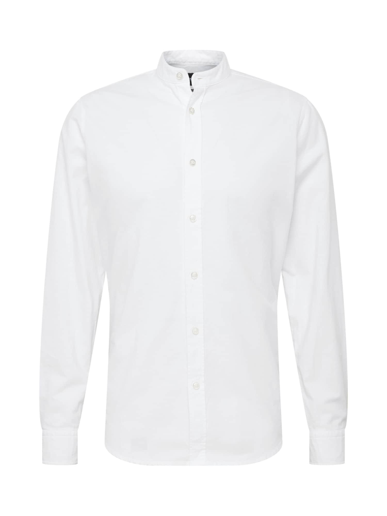 Společenská košile bílá BOSS