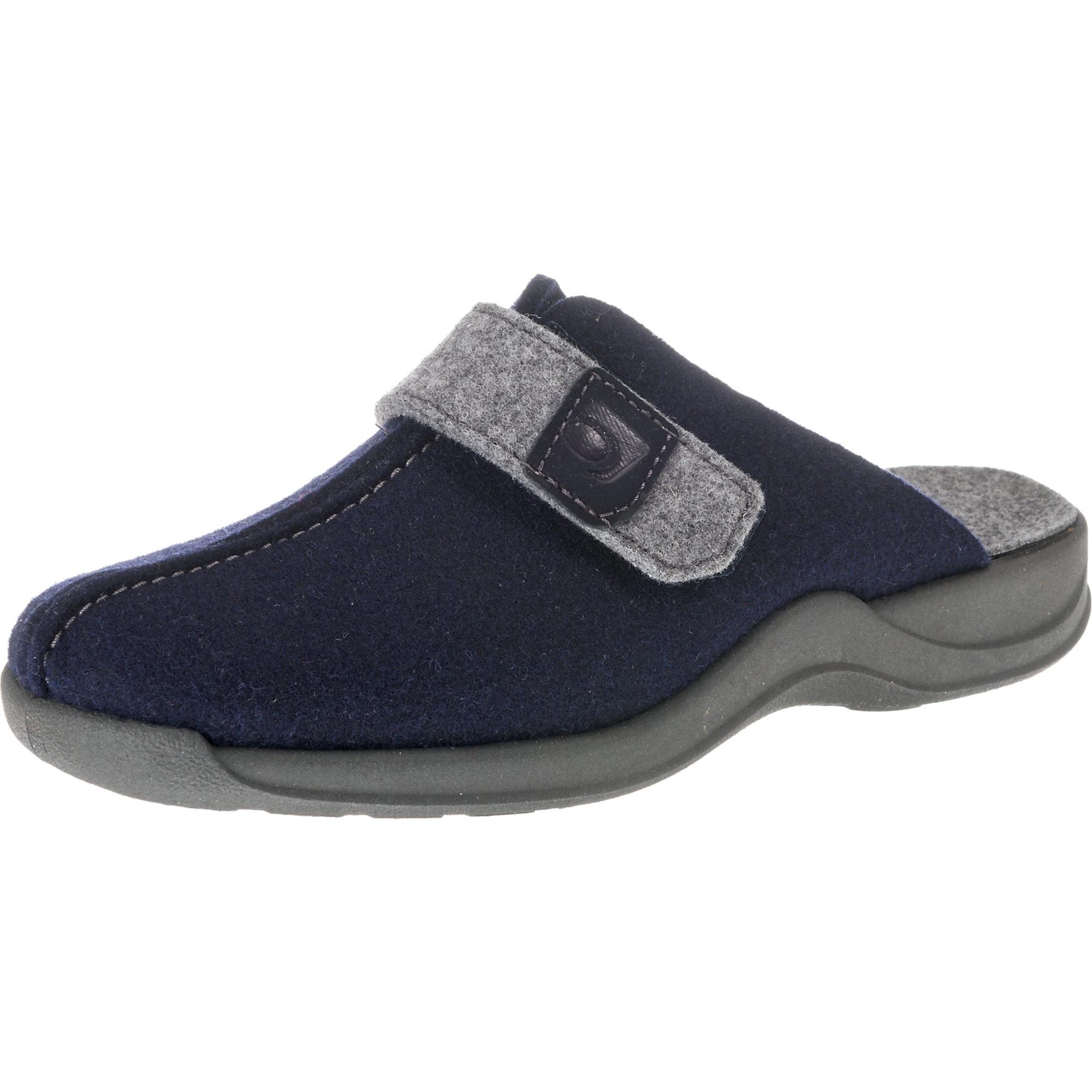 Pantoffeln 'Vaasa-D' | Schuhe > Hausschuhe | Blau | ROHDE