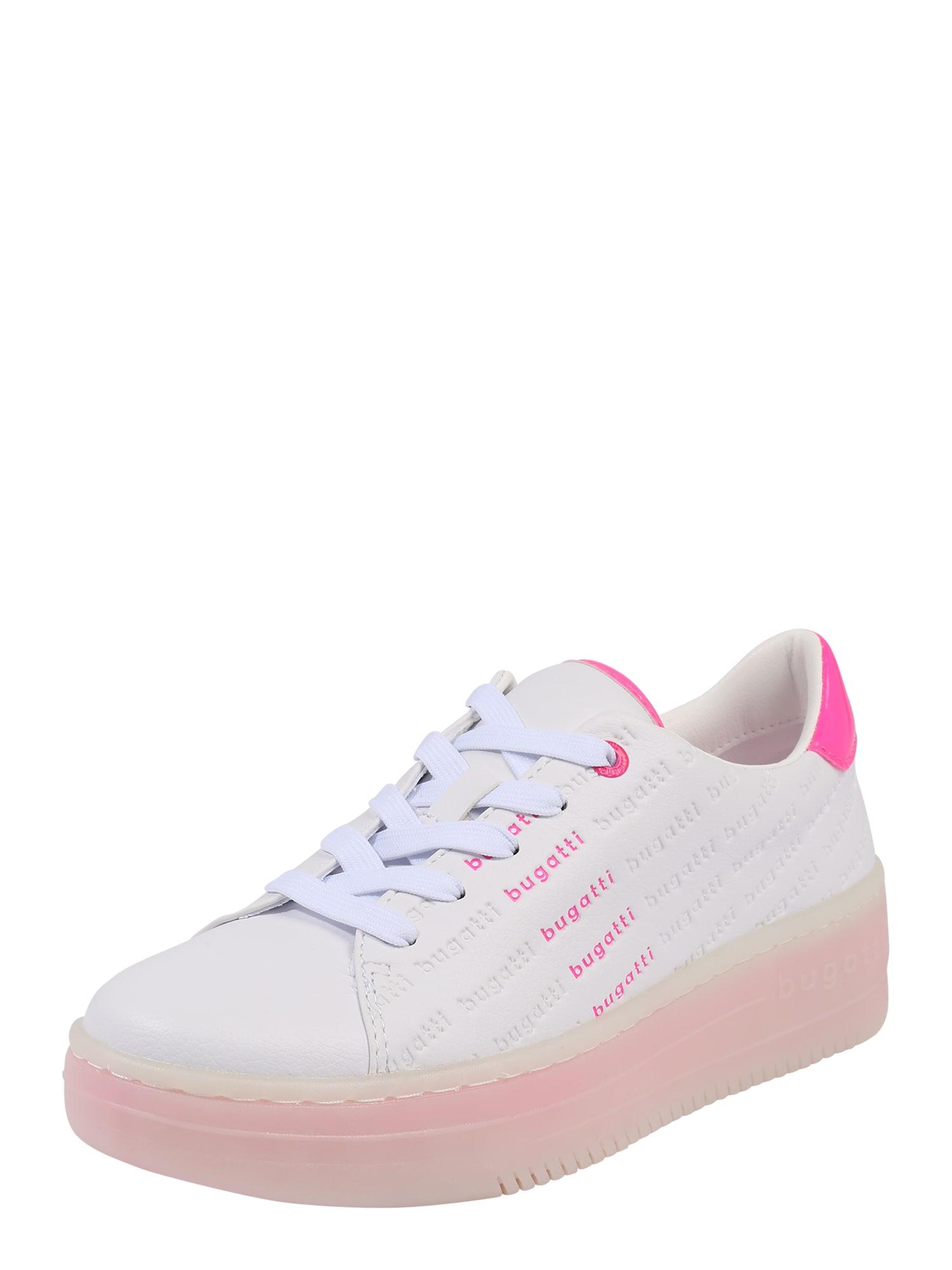 Bugatti Nízke tenisky 'Olivia'  ružová / biela / ružová