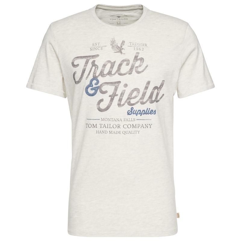 TOM TAILOR T-Shirt mit Schrift-Print jetztbilligerkaufen