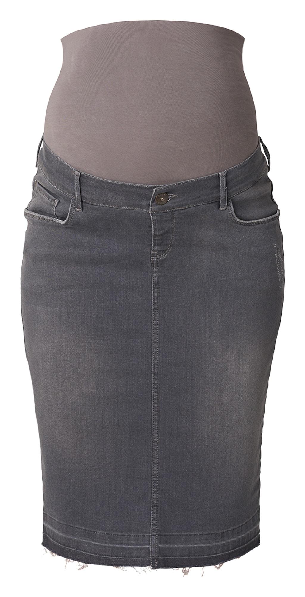 Umstandsrock Jeans Joy | Bekleidung > Umstandsmode > Umstandsröcke | Grau | Noppies