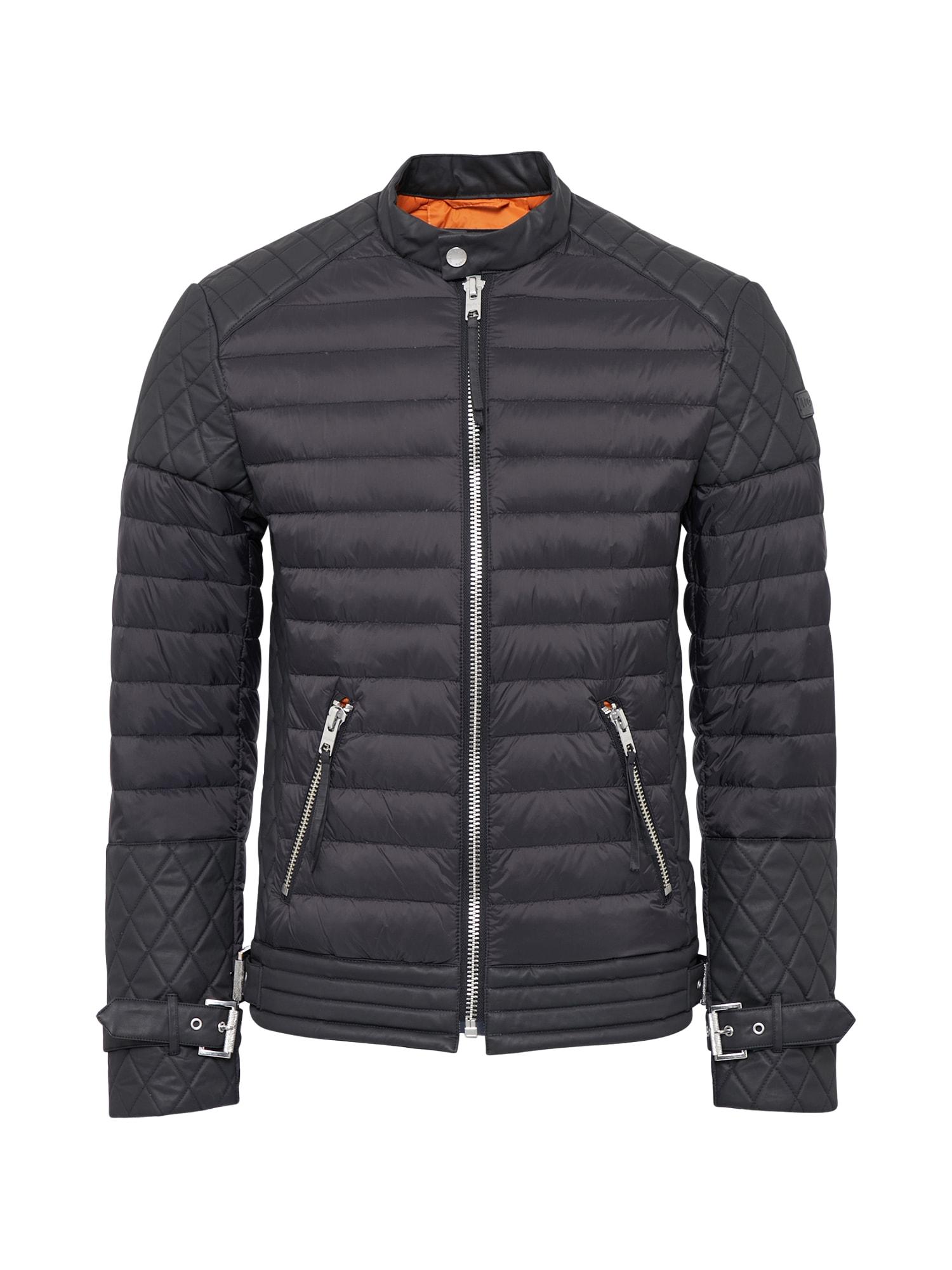 Zimní bunda Lester Down černá Tigha