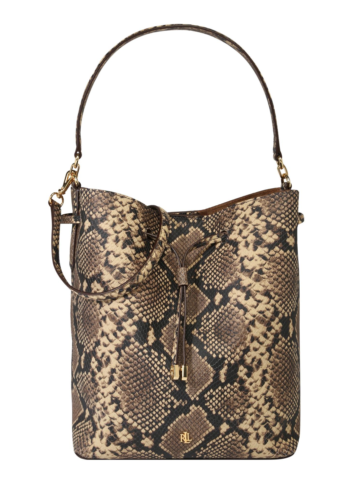 Nákupní taška hnědá Lauren Ralph Lauren