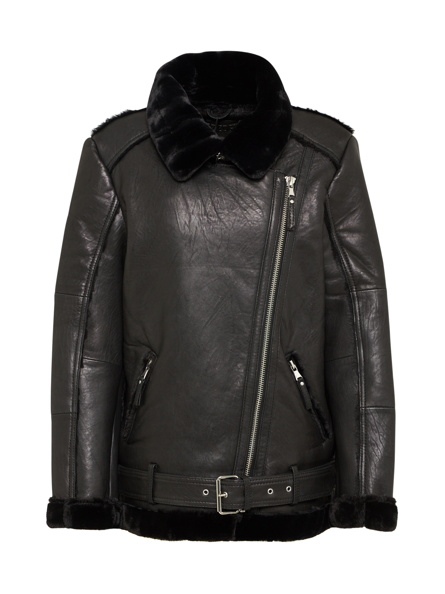 Zimní bunda BEalexa černá BE EDGY