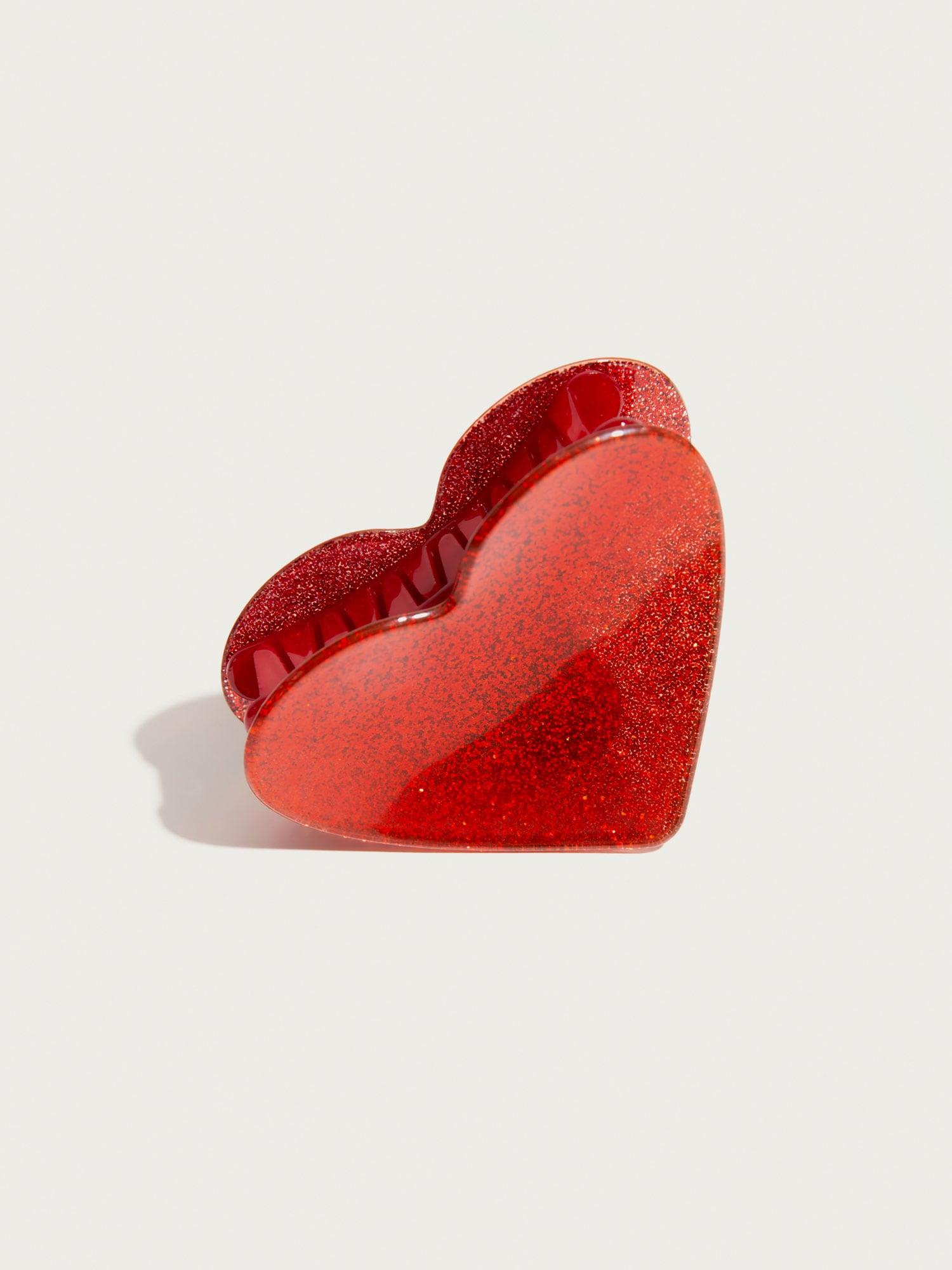 Šperky do vlasů Heart červená Pico For EDITED