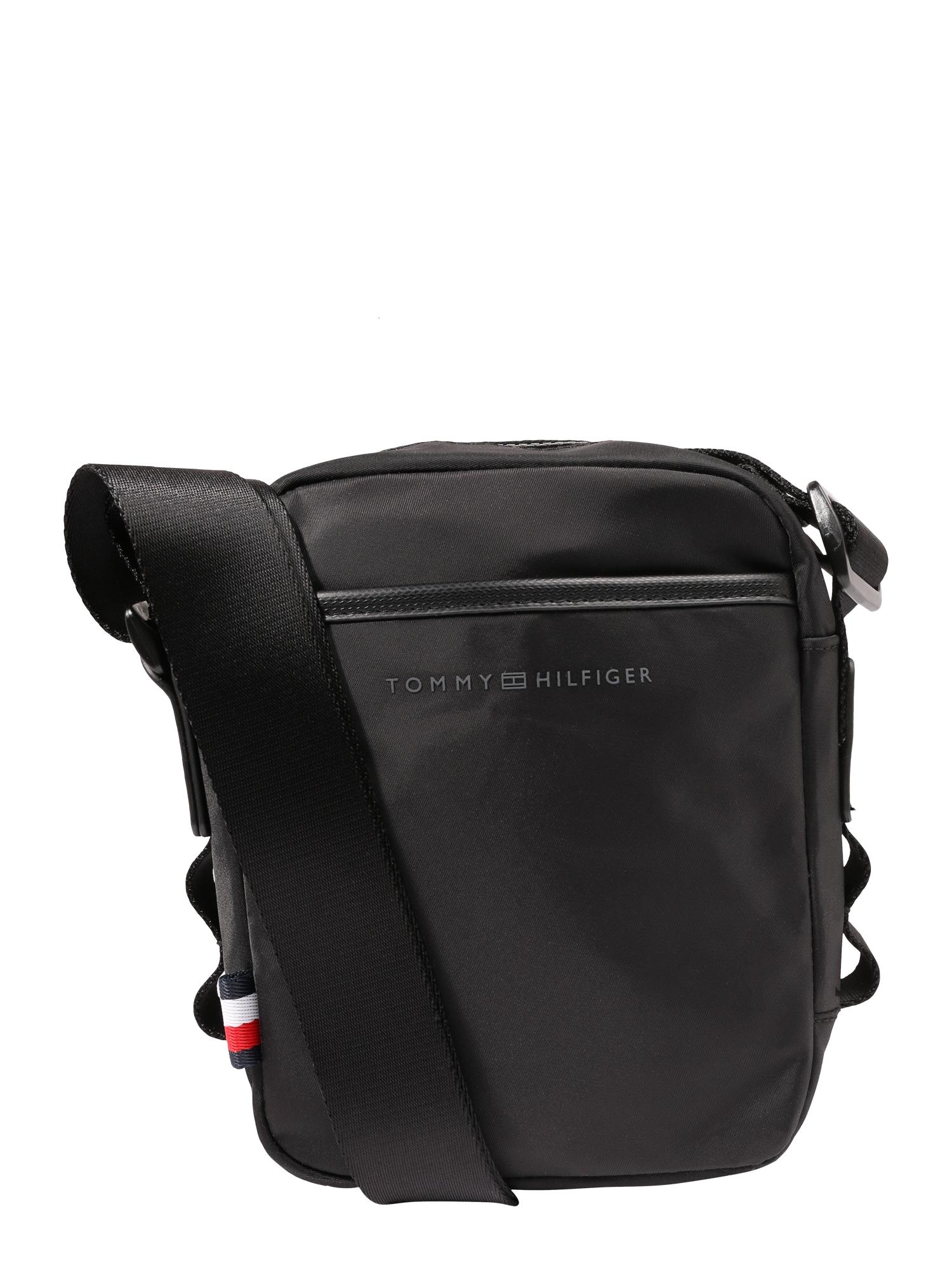 Taška přes rameno Sport Nylon Mini Reporter černá TOMMY HILFIGER
