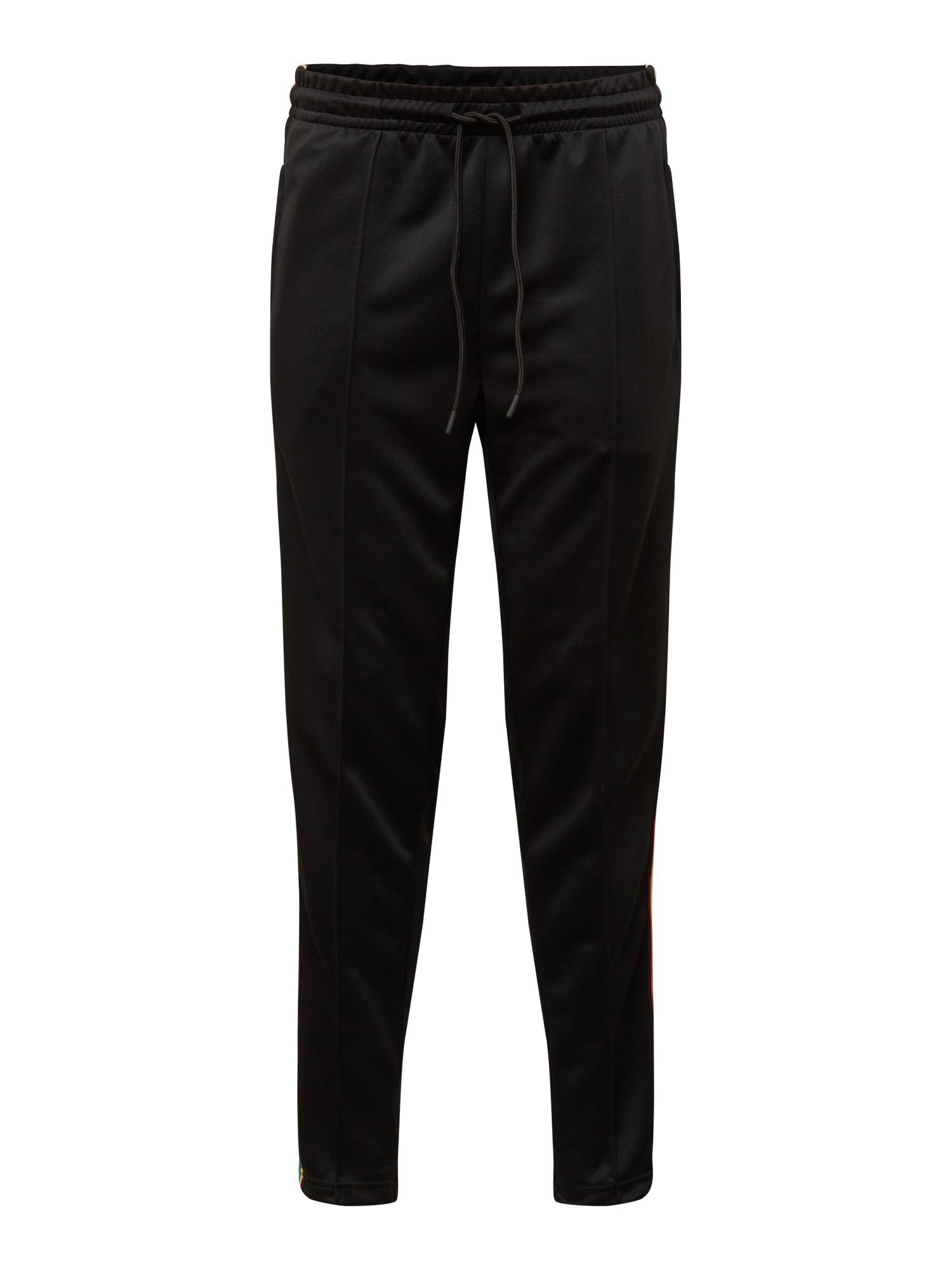 Kalhoty s puky modrá žlutá černá Urban Classics