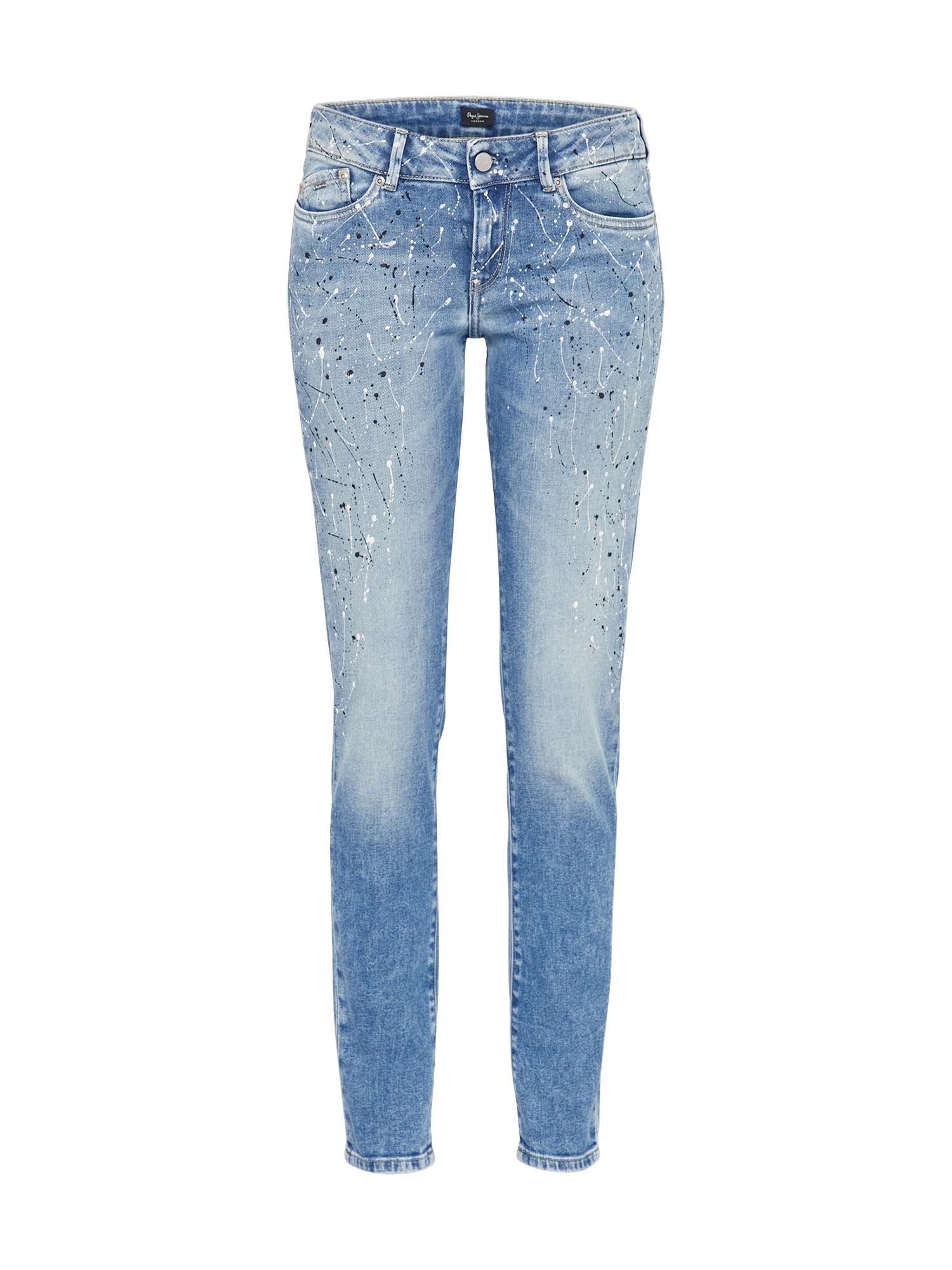 Pepe Jeans Dames Jeans Pixie Flick blue denim