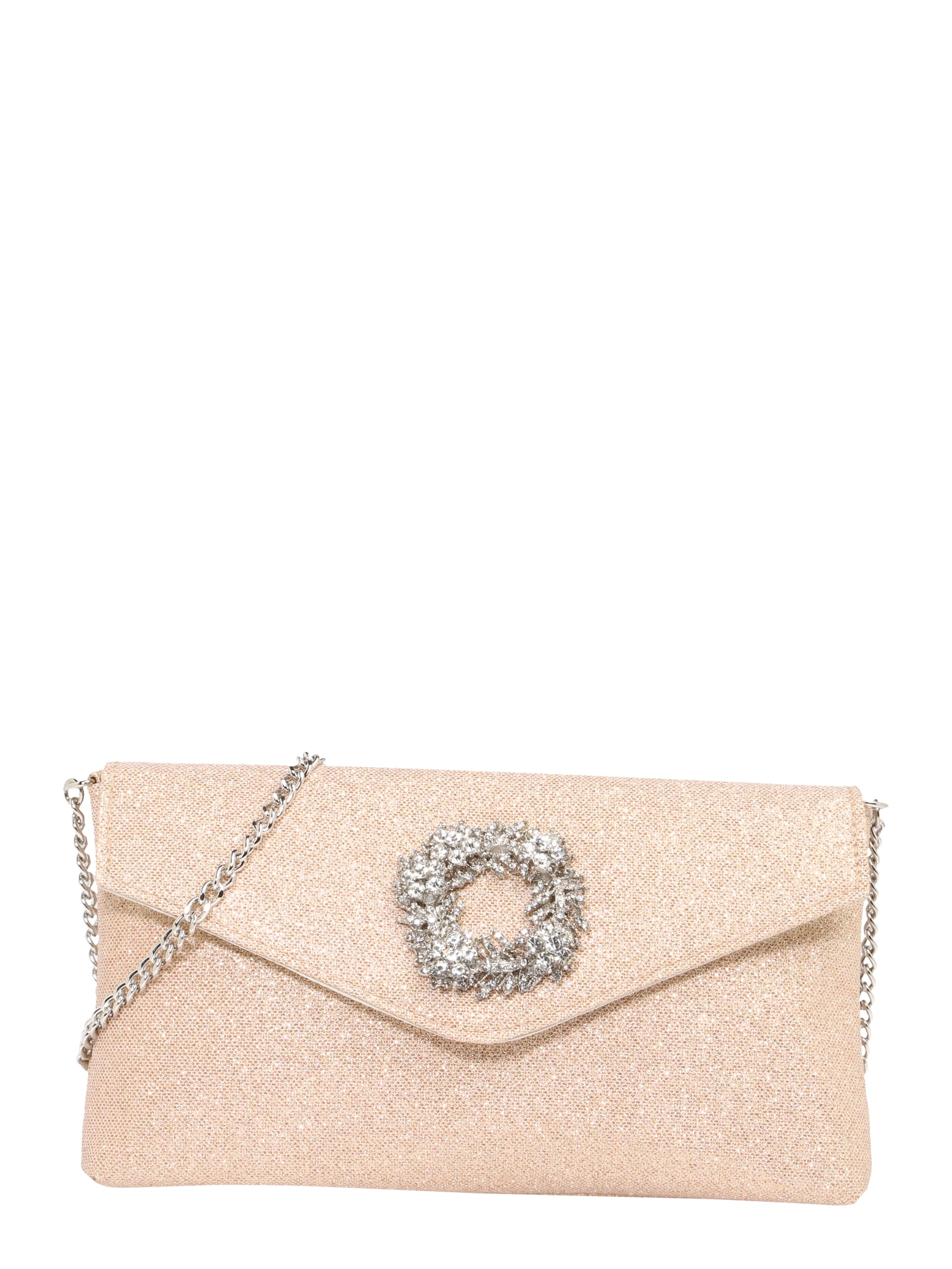 Dune LONDON, Dames Clutch 'BREED', poederroze