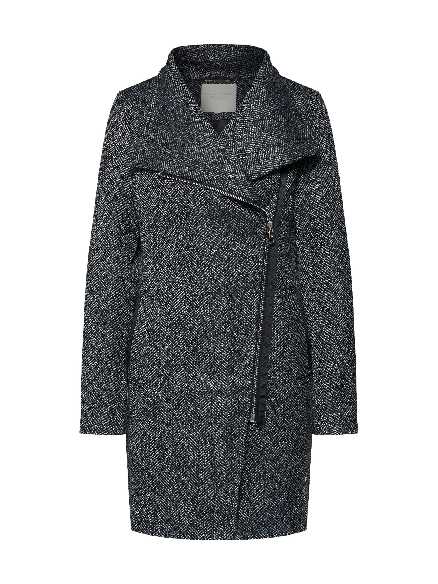 Přechodný kabát tmavě šedá TOM TAILOR DENIM