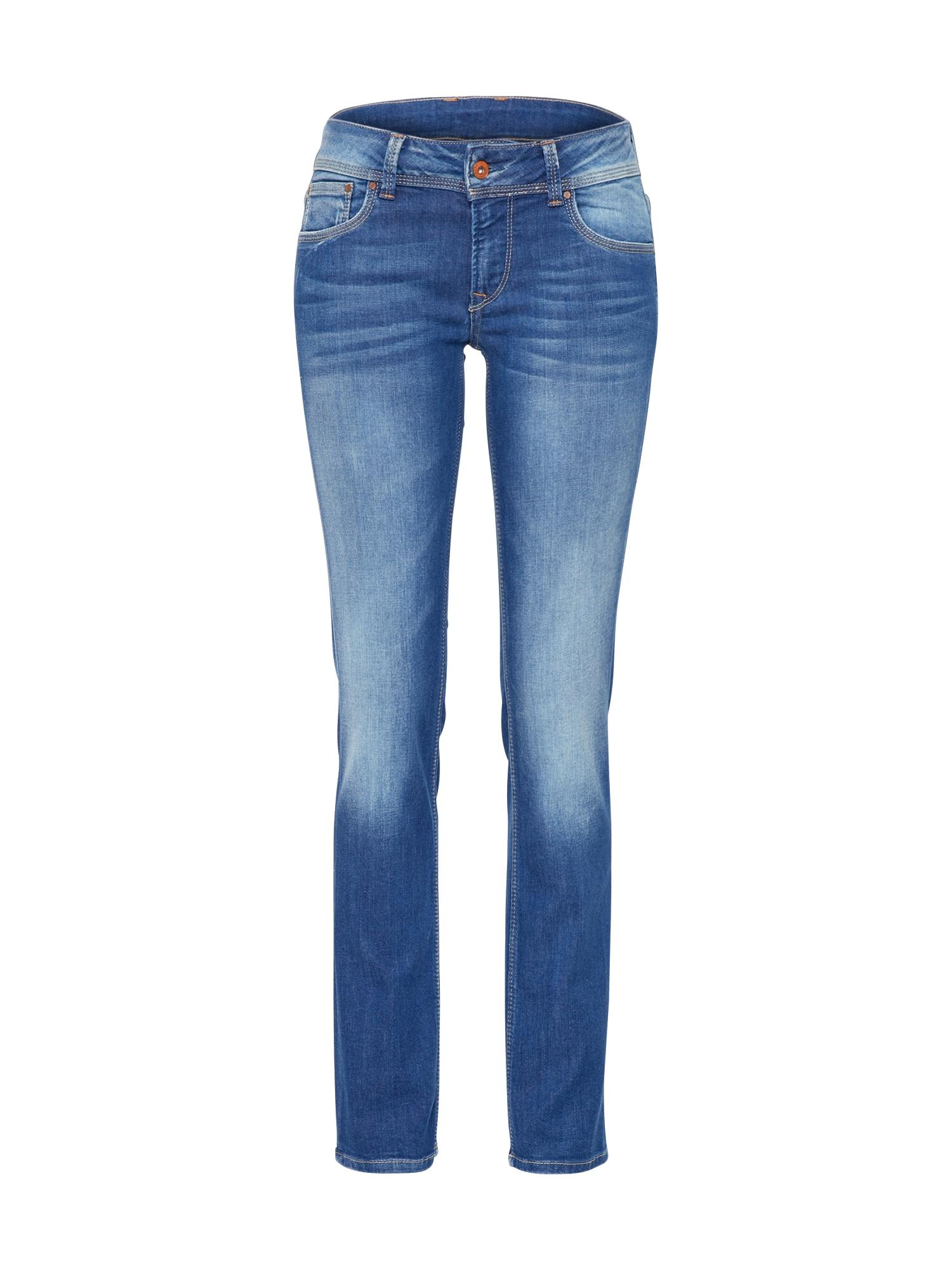 Džíny Saturn modrá džínovina Pepe Jeans