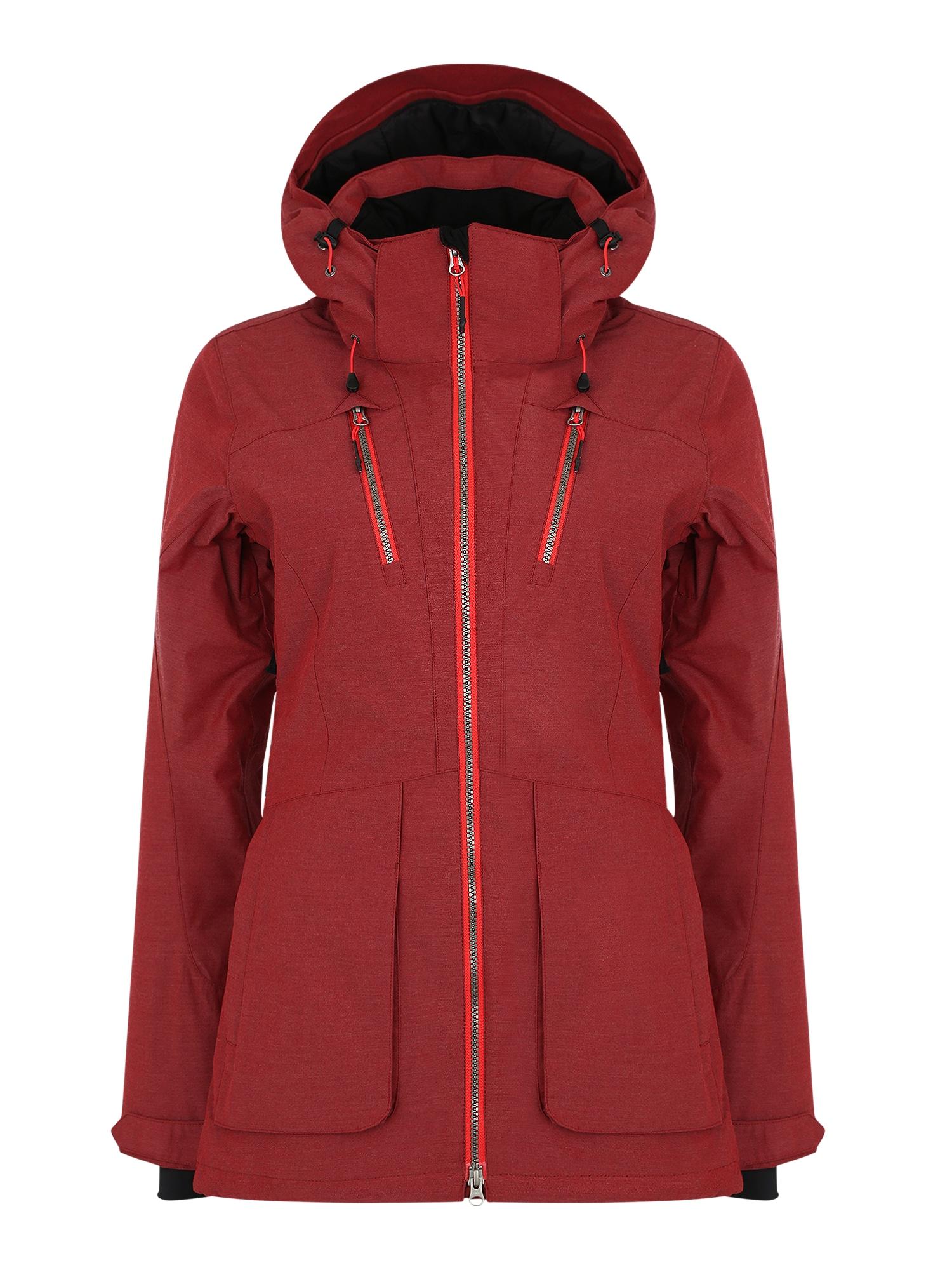 Outdoorová bunda Kelly burgundská červeň ICEPEAK