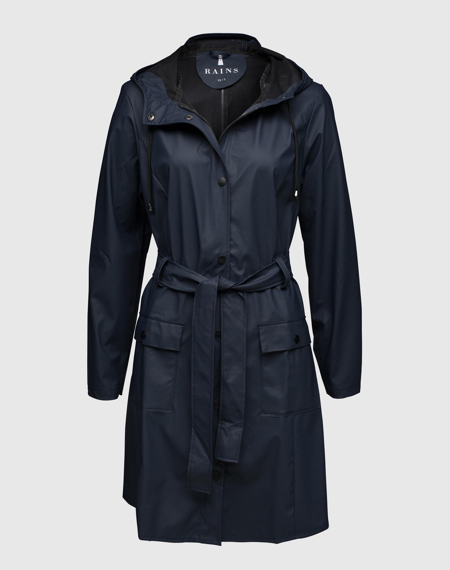 RAINS, Dames Functionele mantel, navy