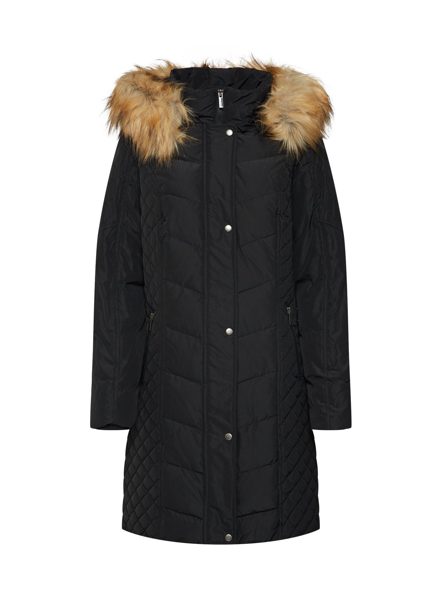 Zimní kabát BRAZIL černá Soyaconcept
