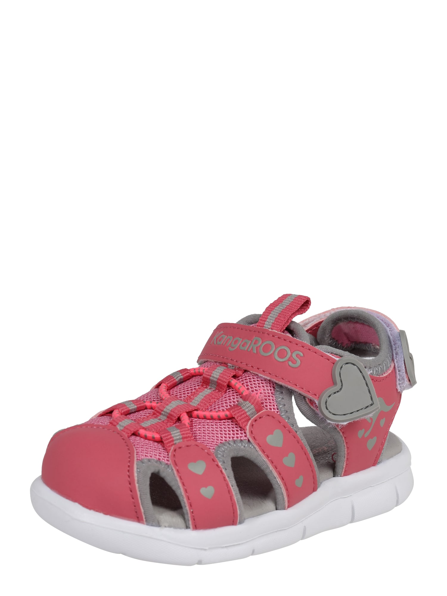 Sandály Mini šedá pink bílá KangaROOS