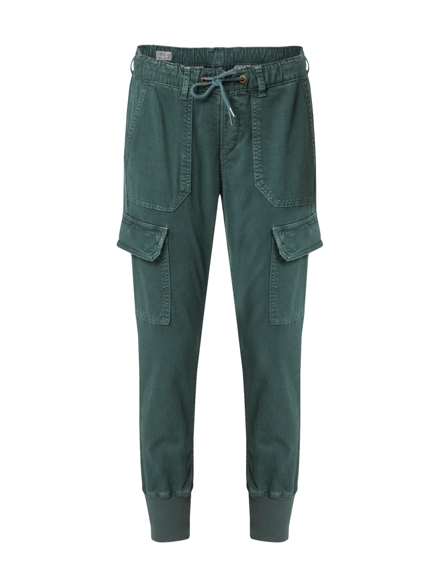 Kalhoty Crusade petrolejová Pepe Jeans