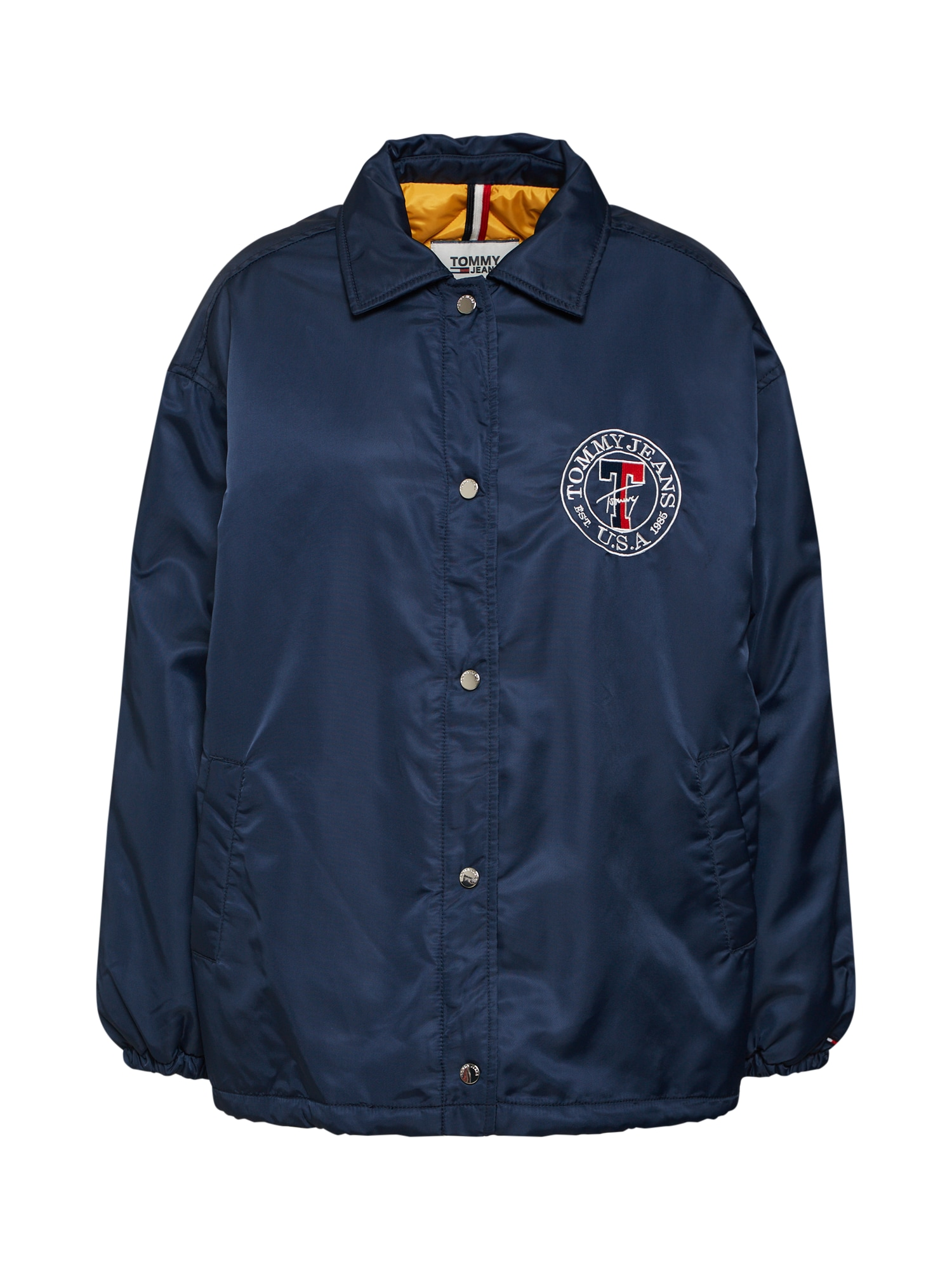 Tommy Jeans Prechodná bunda  tmavomodrá