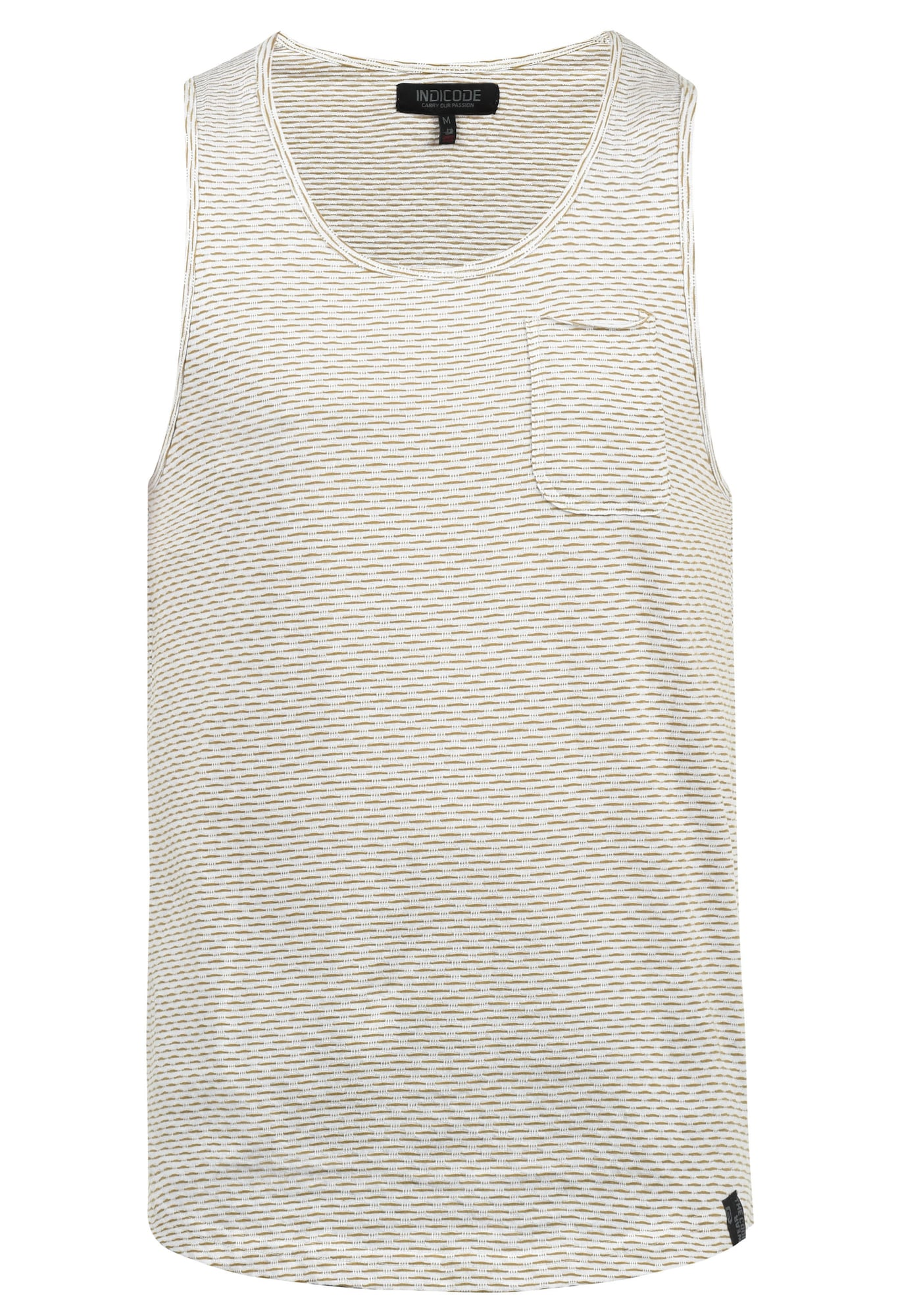 Tanktop 'Albion' | Bekleidung > Shirts > Tank Tops | Beige | INDICODE JEANS