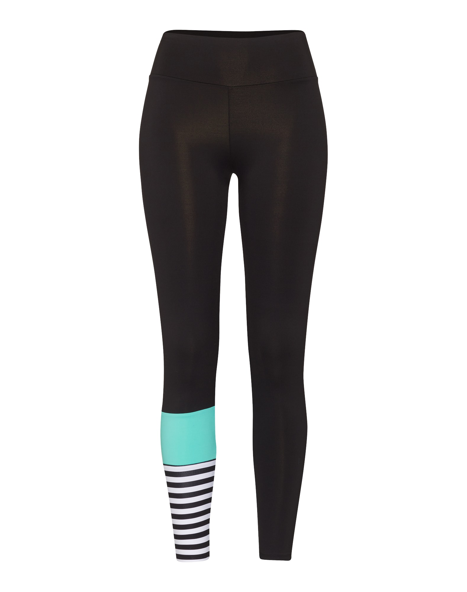 Outdoorové kalhoty Surf Style Turquoise tyrkysová černá bílá Hey Honey