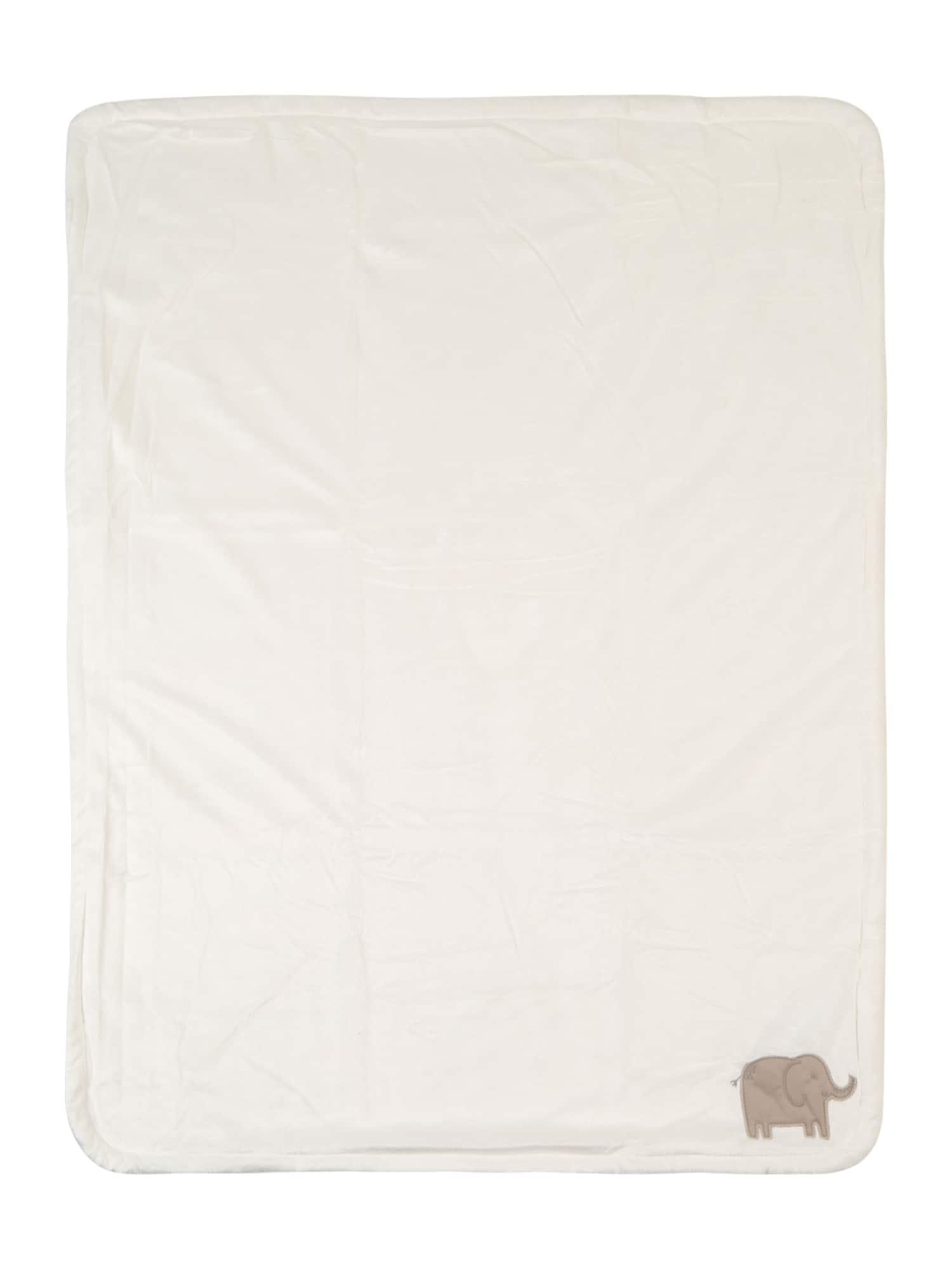 Carters Dětská deka bílá Carter's