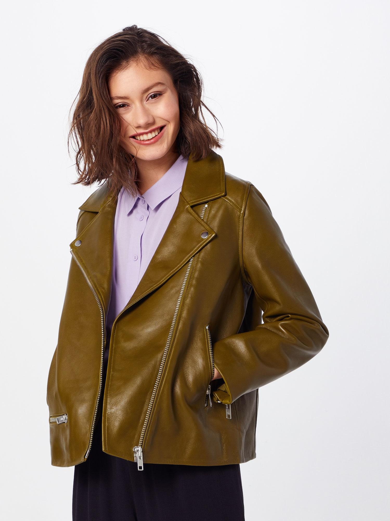 samsoe samsoe - Lederjacke 'Welter jacket 10786'