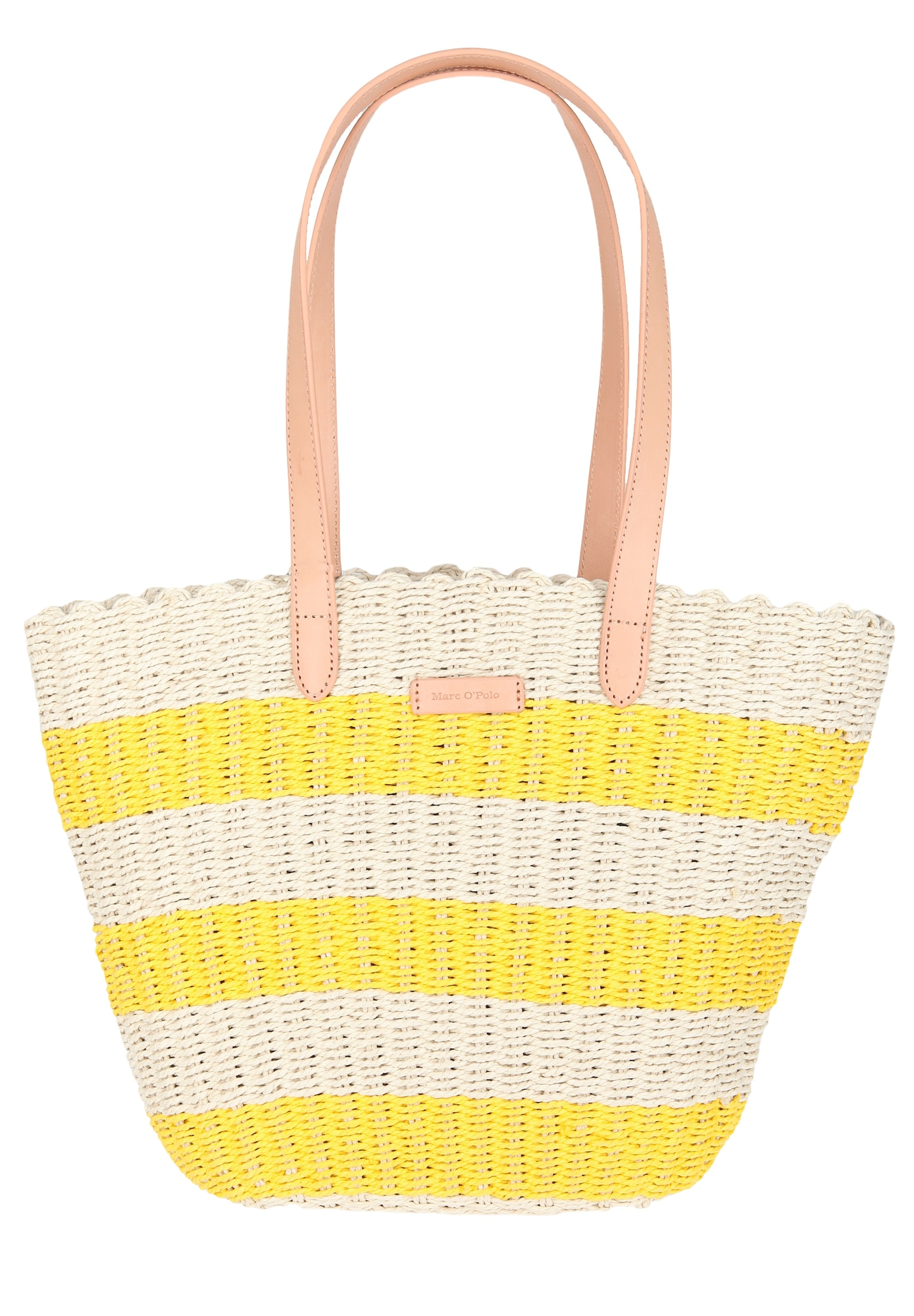 Strandtasche 'Sanna' | Taschen > Handtaschen > Strandtaschen | Beige - Gelb | Marc O'Polo