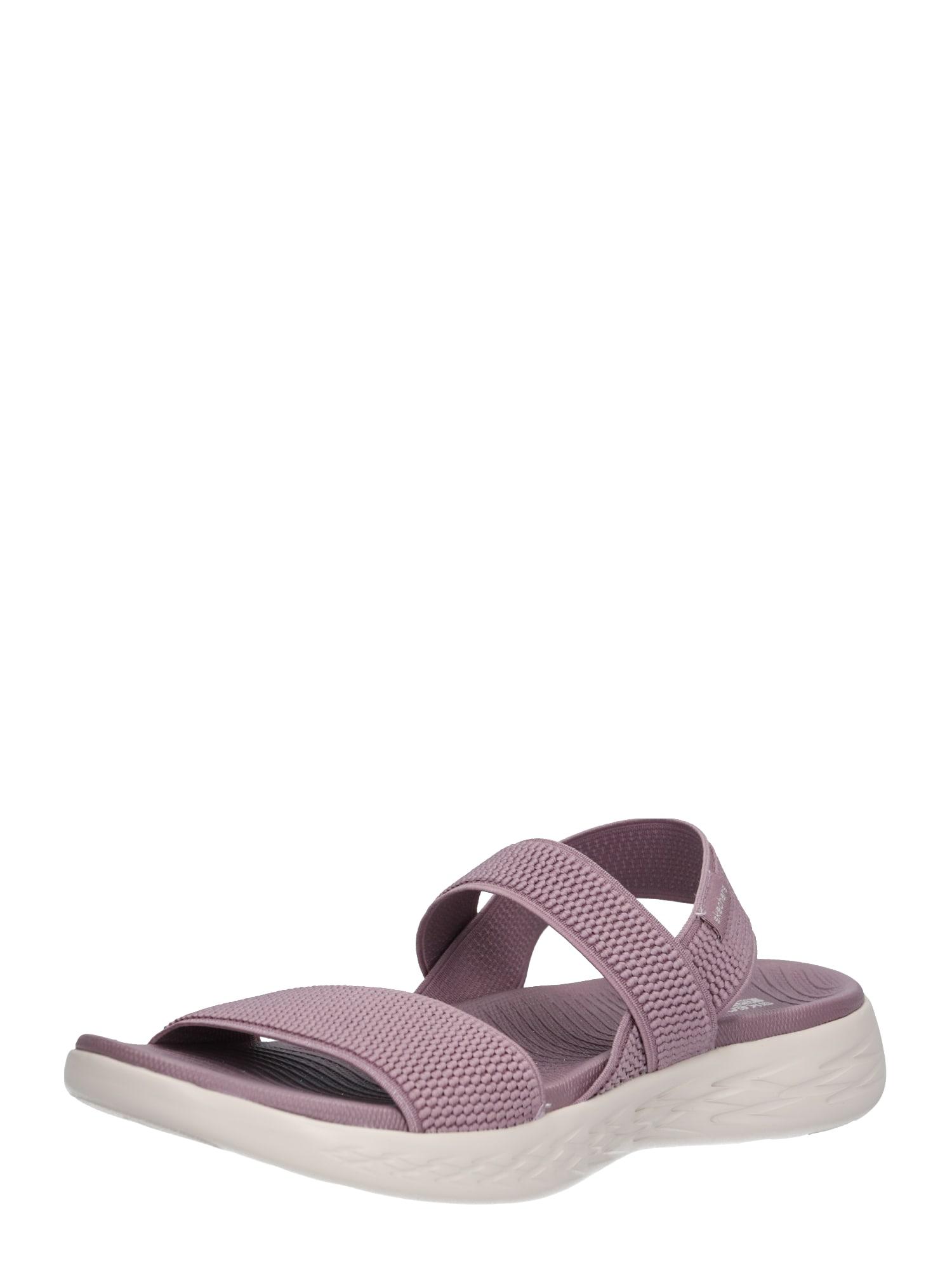 SKECHERS Remienkové sandále 'ON-THE-GO 600 - FLAWLESS'  ružová