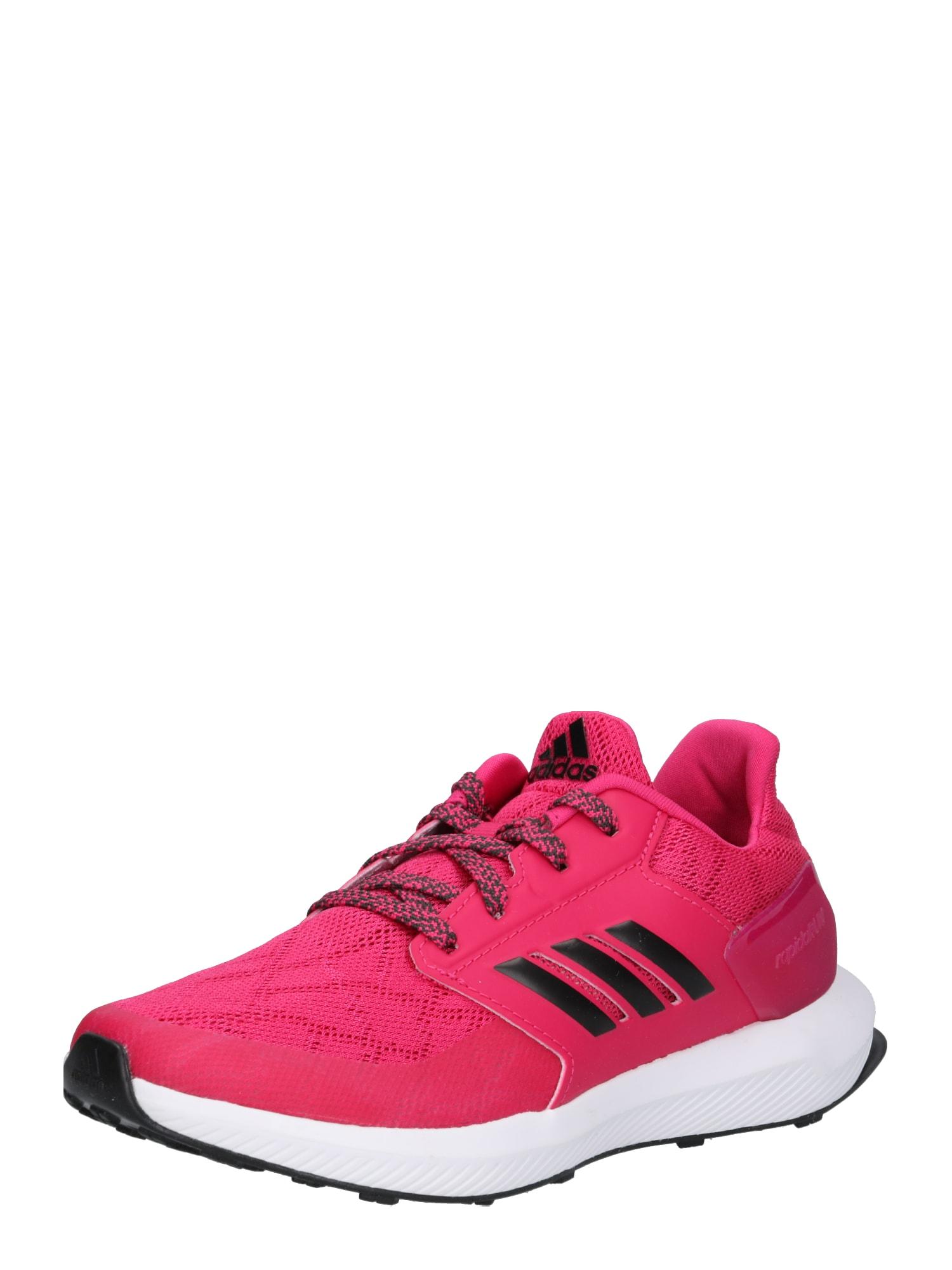 Sportovní boty RapidaRun K pink černá ADIDAS PERFORMANCE