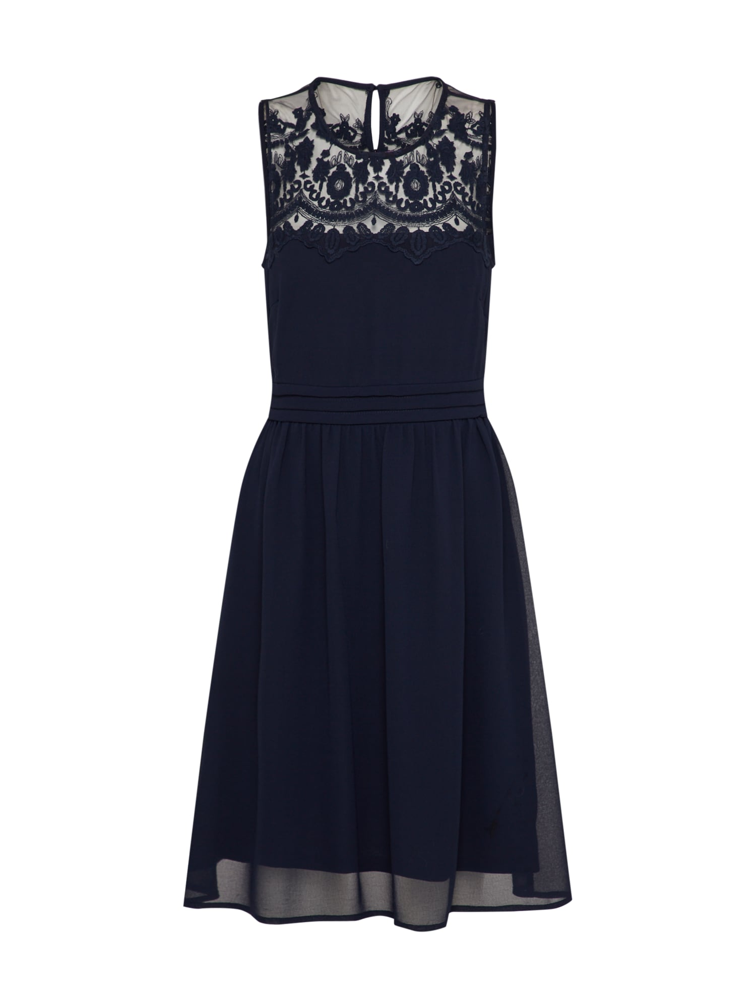 Koktejlové šaty Vanessa tmavě modrá VERO MODA
