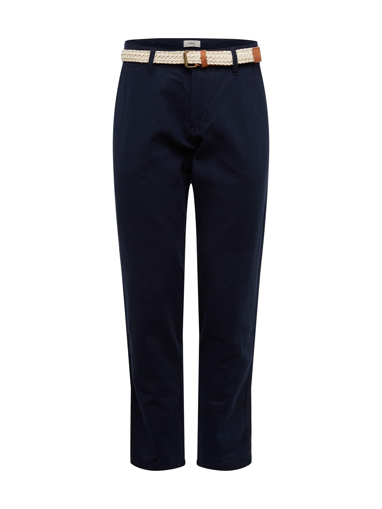 ESPRIT Kalhoty  námořnická modř