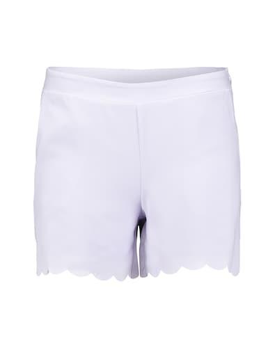 Shorts mit Bogensaum 'Ring'