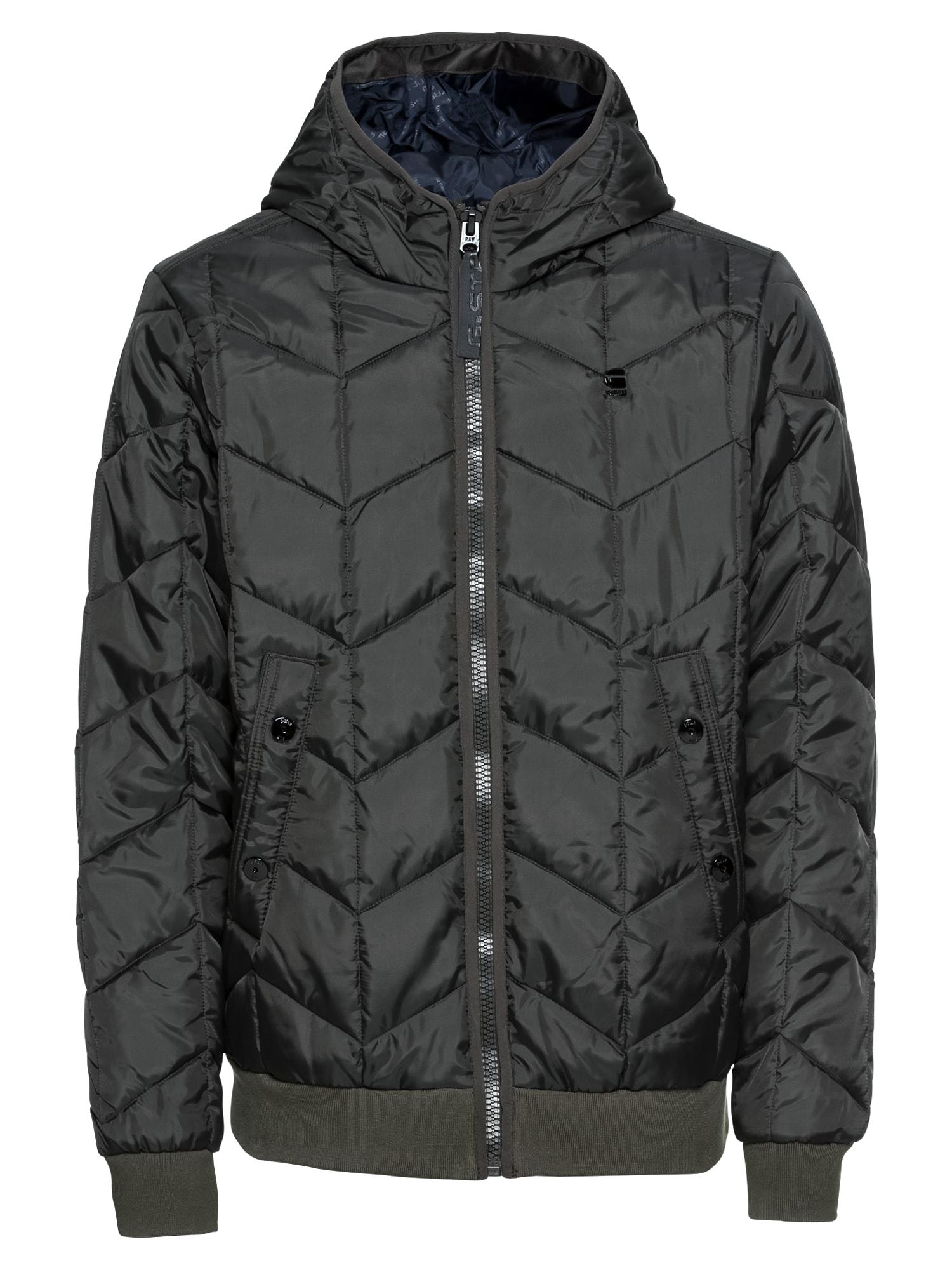 Zimní bunda Whistler meefic quilted hdd bomber tmavě šedá G-STAR RAW