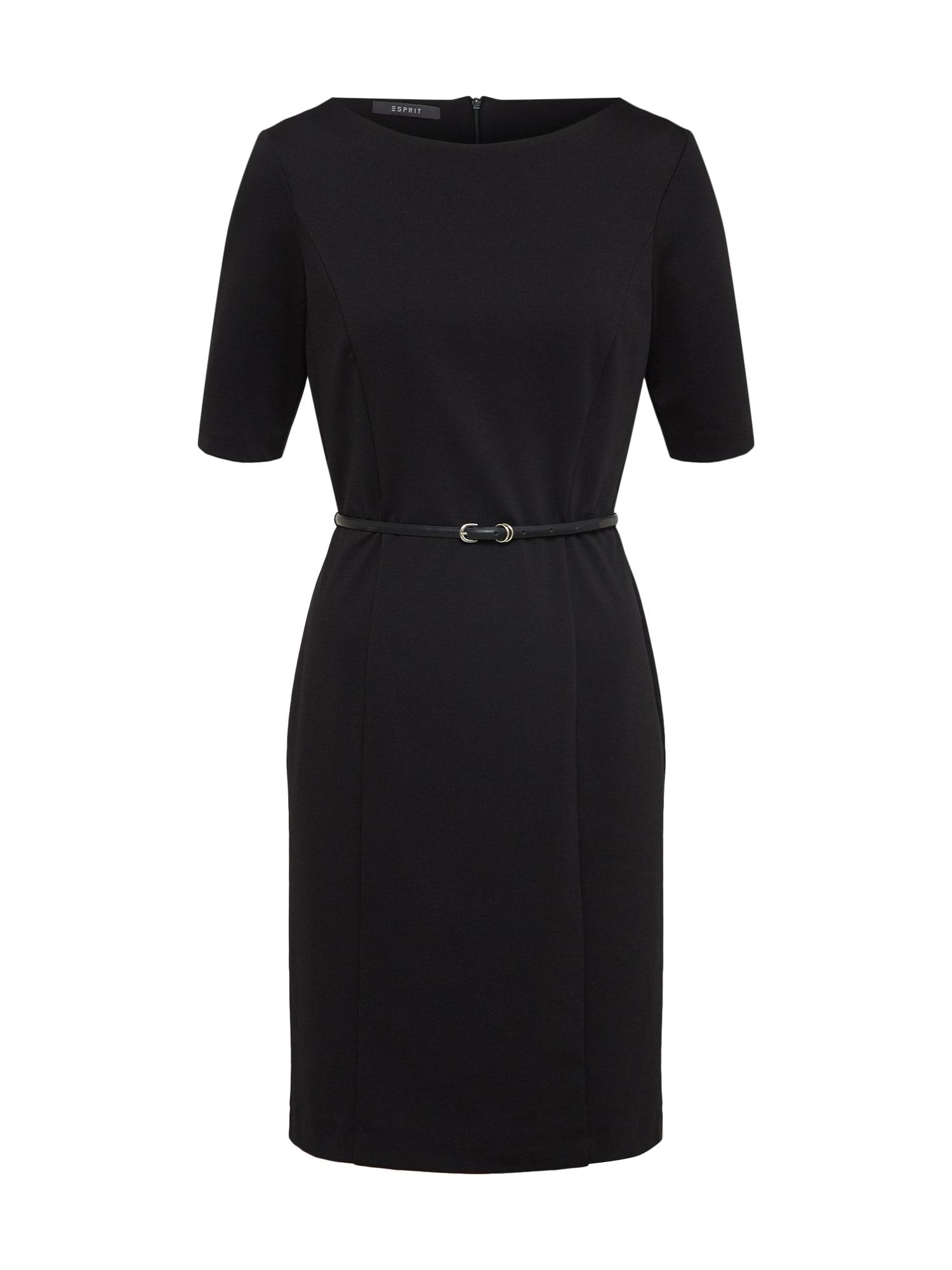 Pouzdrové šaty černá Esprit Collection