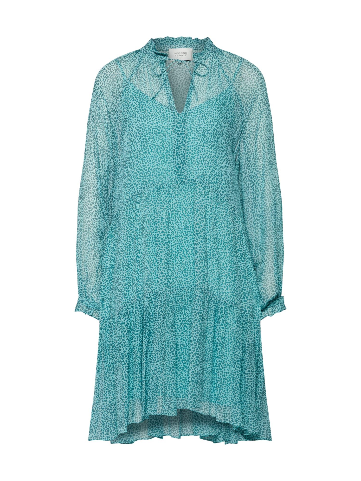 Šaty Lykke modrá SECOND FEMALE