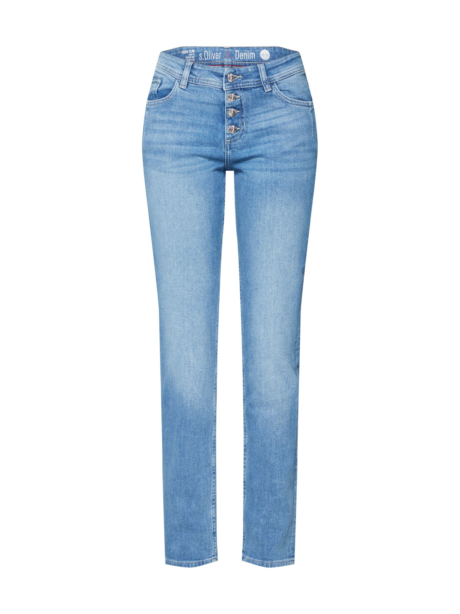 Džíny modrá džínovina tmavě modrá S.Oliver RED LABEL