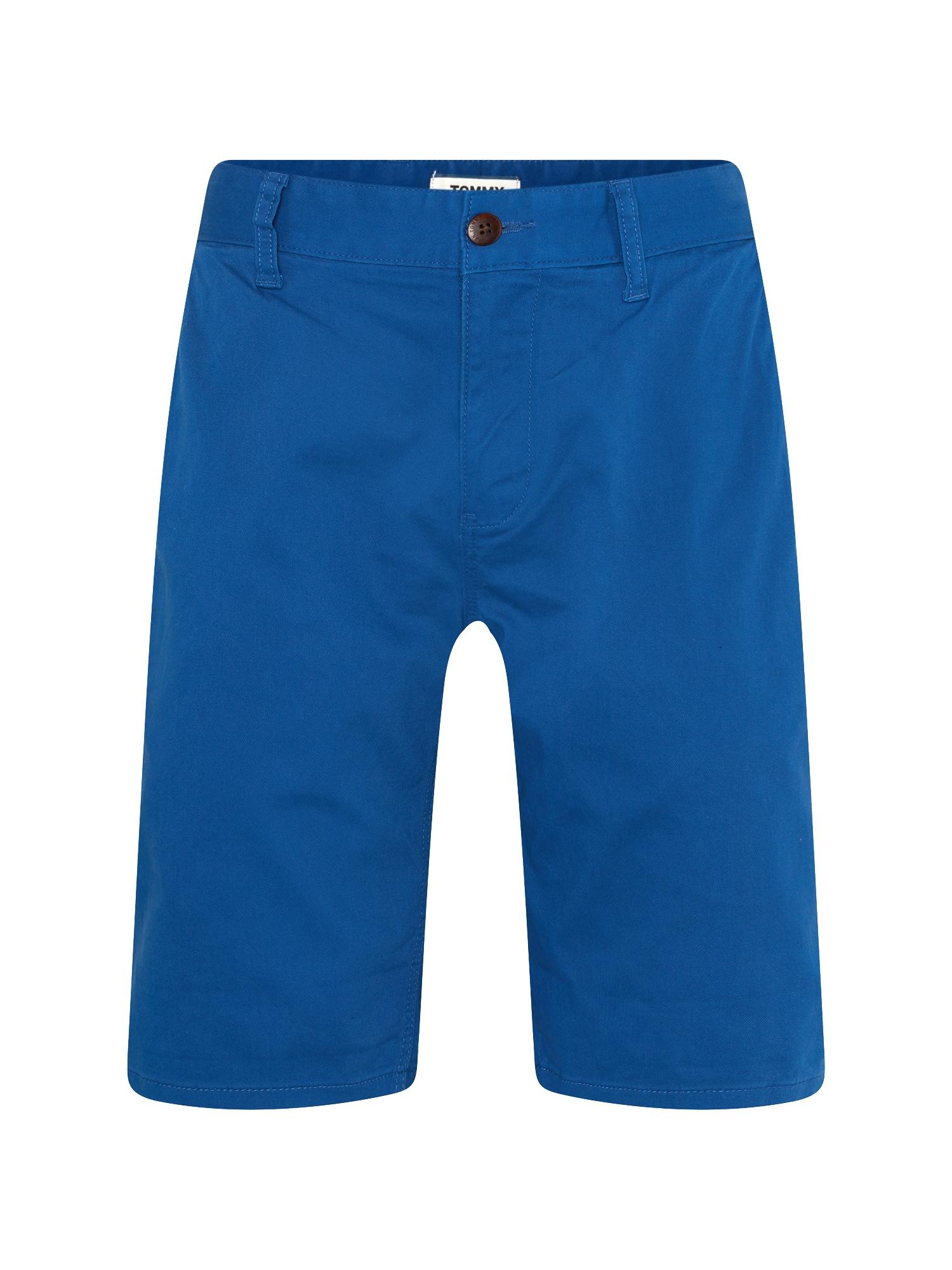 Chino kalhoty TJM ESSENTIAL CHINO SHORT královská modrá Tommy Jeans