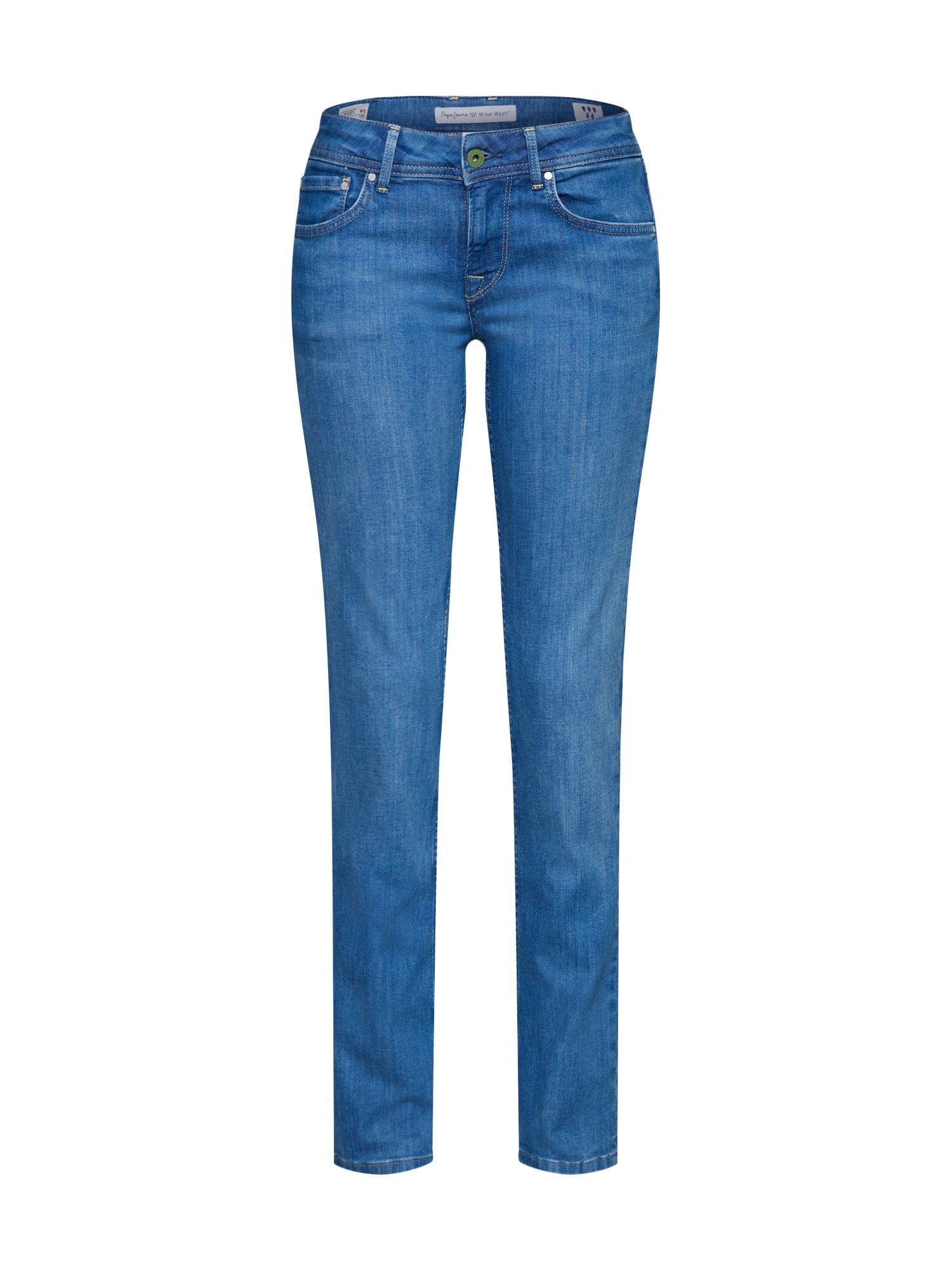 Džíny MIRA modrá džínovina Pepe Jeans
