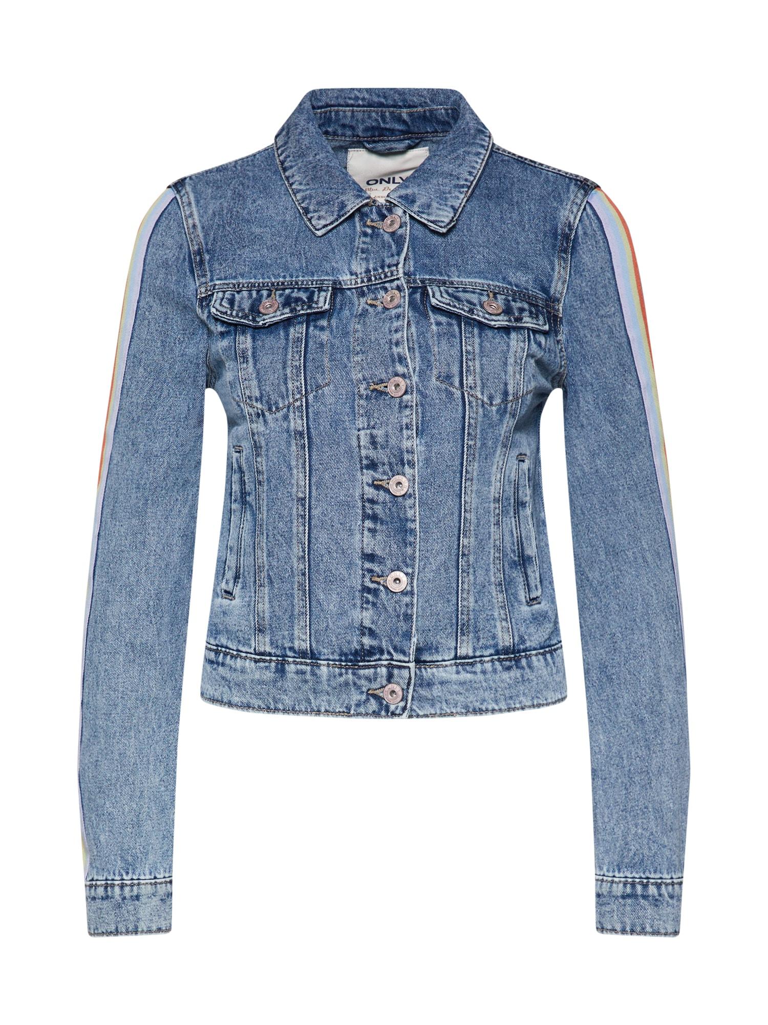 Přechodná bunda onlCHRIS modrá džínovina ONLY