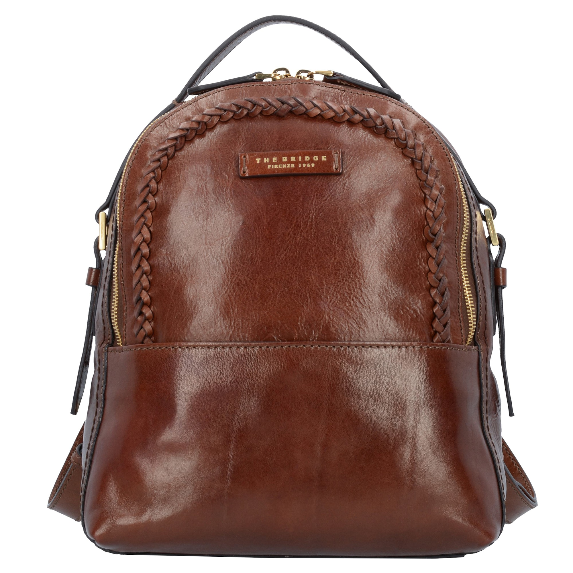 the bridge - City Rucksack ´Salinger´ Leder 30 cm