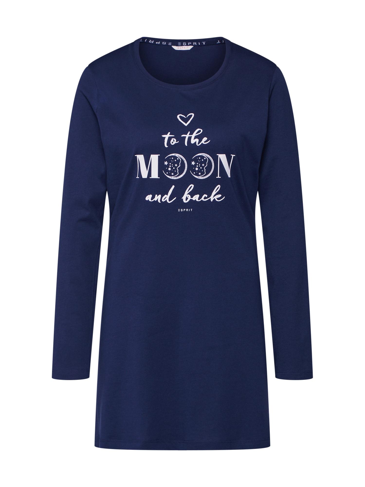 Tričko na spaní DEVA CAS NW námořnická modř ESPRIT