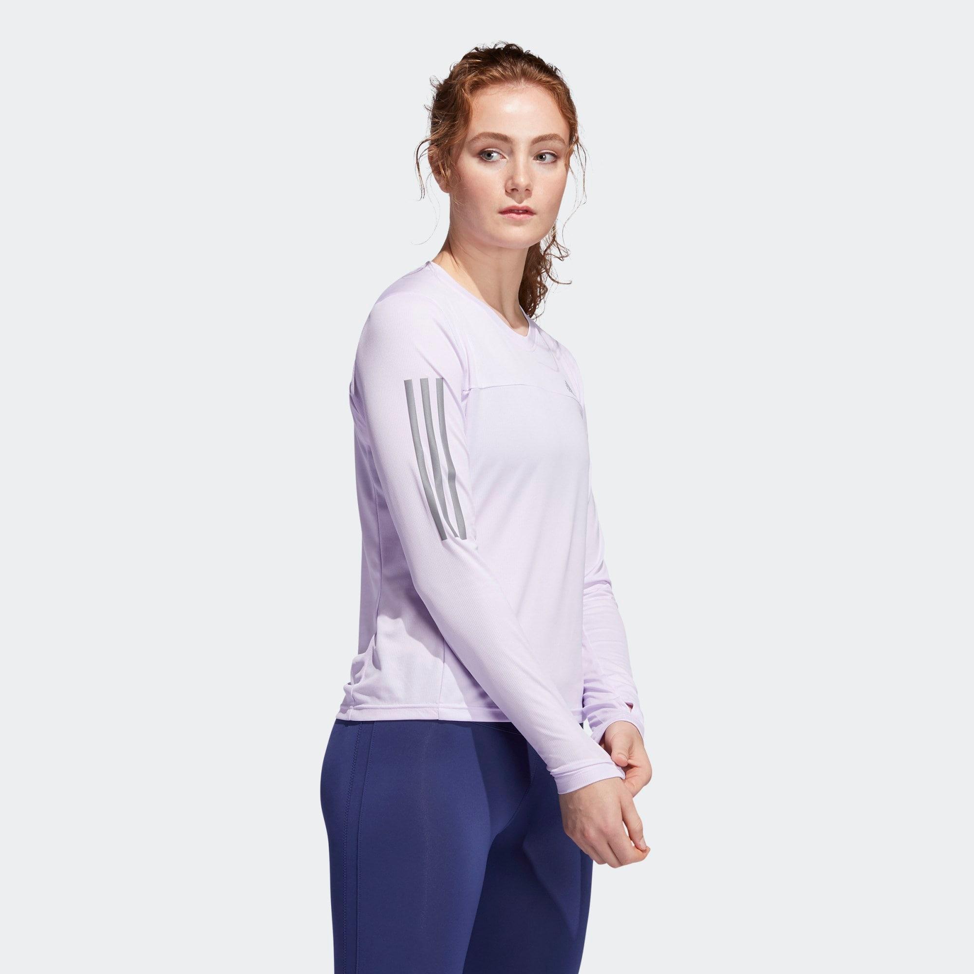 ADIDAS PERFORMANCE Funkčné tričko  pastelovo fialová / striebornošedá