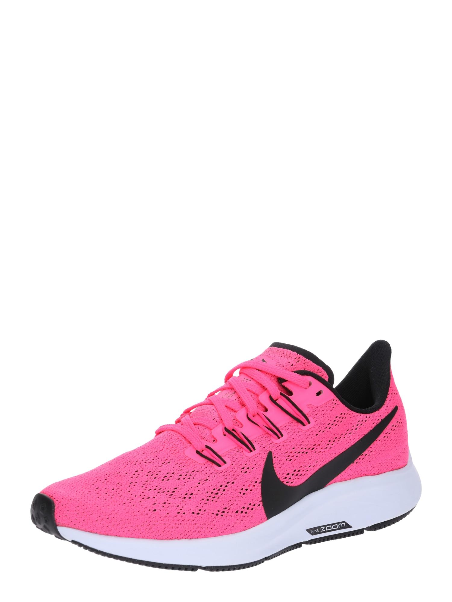 Běžecká obuv WMNS AIR ZOOM PEGASUS 36 pink černá NIKE