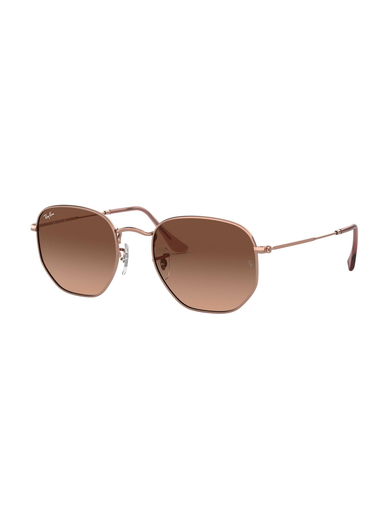 Ray-Ban Sluneční brýle 'HEXAGONAL'  hnědá
